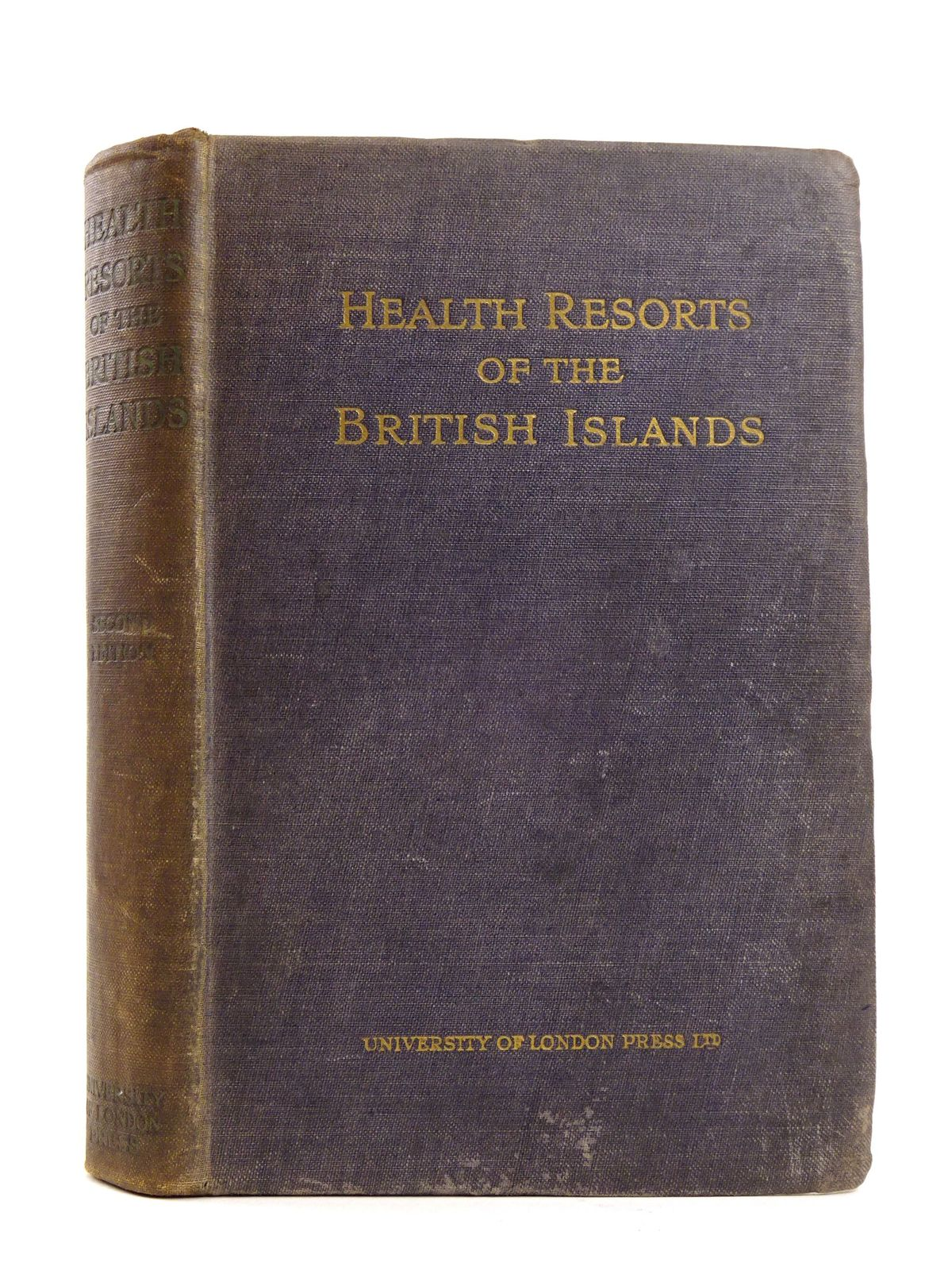 Photo of HEALTH RESORTS OF THE BRITISH ISLANDS written by Wood, Neville published by University of London Press Ltd. (STOCK CODE: 1818173)  for sale by Stella & Rose's Books