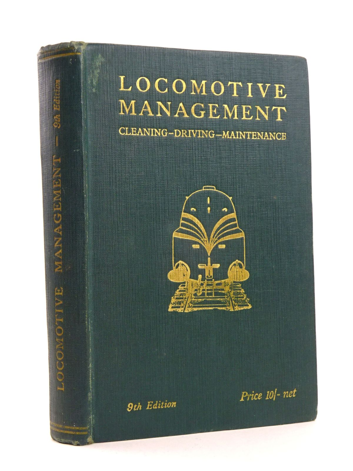 Photo of LOCOMOTIVE MANAGEMENT CLEANING DRIVING MAINTENANCE- Stock Number: 1818180