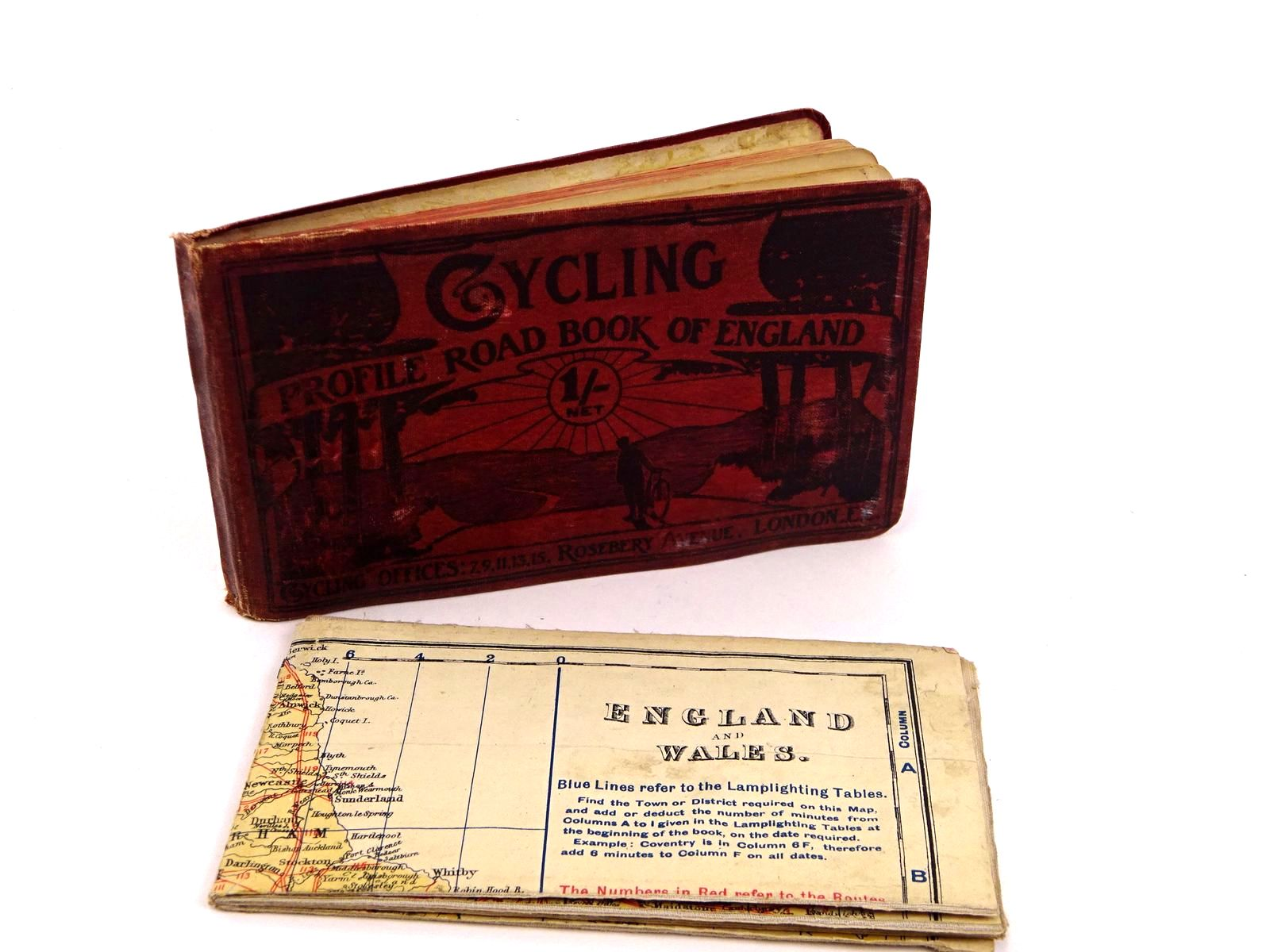 Photo of CYCLING PROFILE ROAD BOOK OF ENGLAND- Stock Number: 1818181