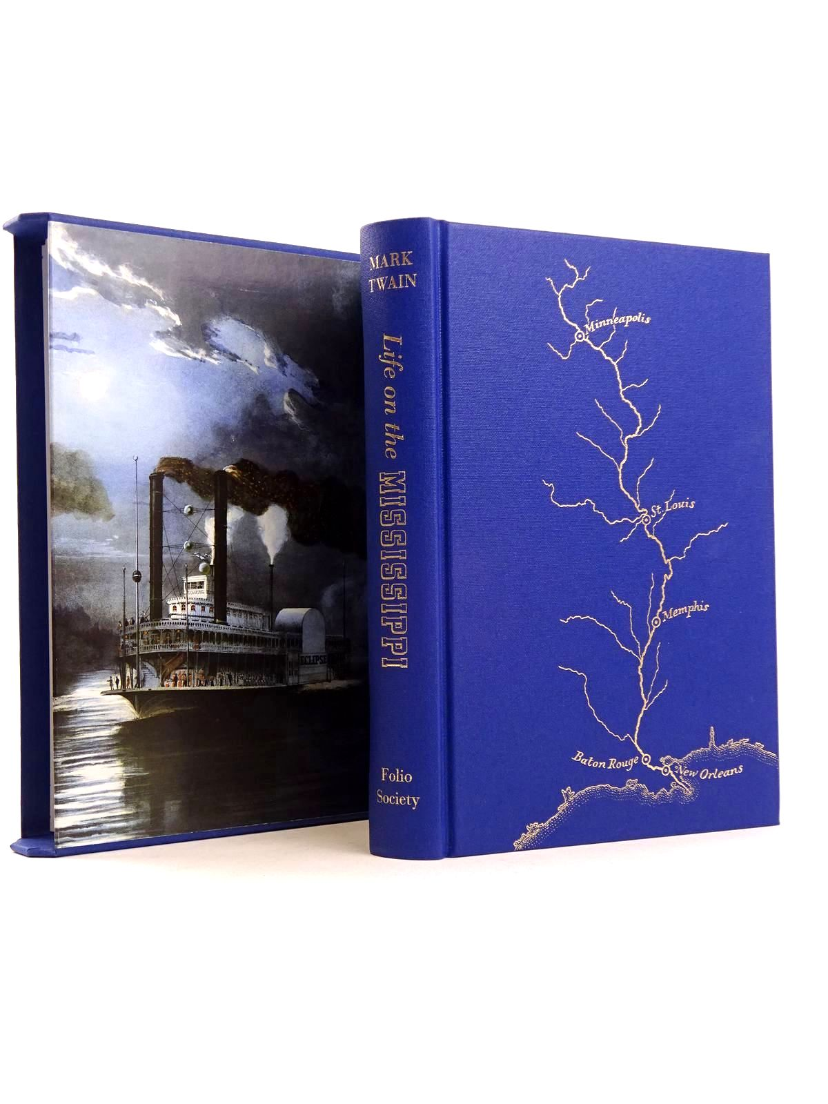Photo of LIFE ON THE MISSISSIPPI written by Twain, Mark published by Folio Society (STOCK CODE: 1818195)  for sale by Stella & Rose's Books