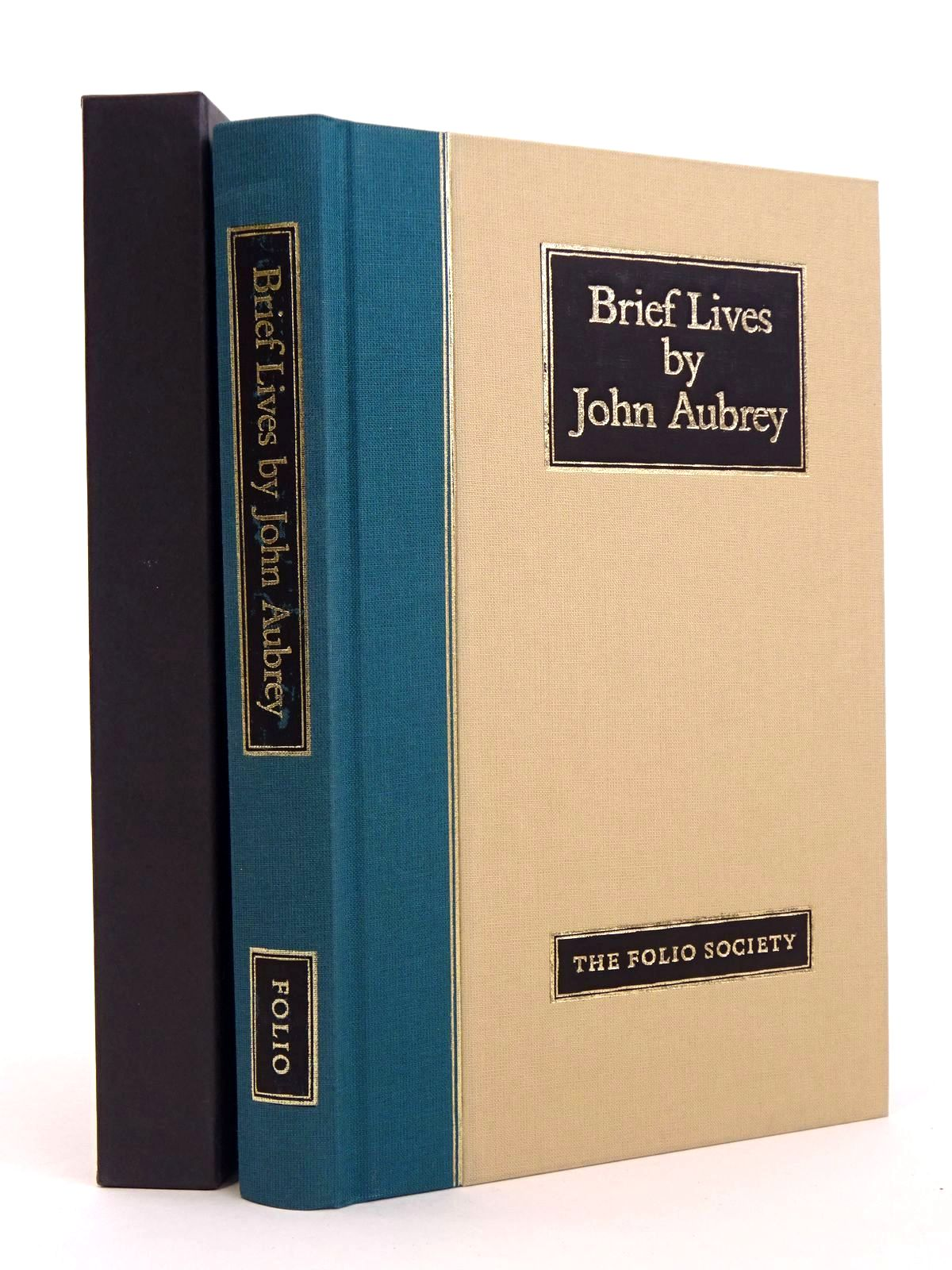 Photo of BRIEF LIVES written by Aubrey, John Barber, Richard published by Folio Society (STOCK CODE: 1818200)  for sale by Stella & Rose's Books