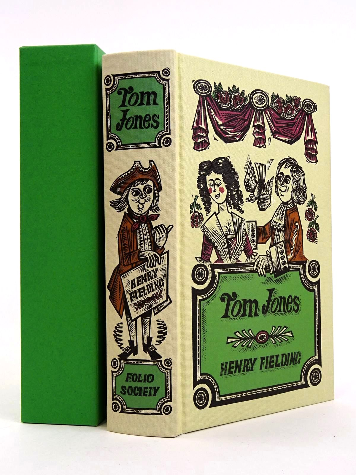 Photo of THE HISTORY OF TOM JONES written by Fielding, Henry illustrated by Harris, Derrick published by Folio Society (STOCK CODE: 1818204)  for sale by Stella & Rose's Books