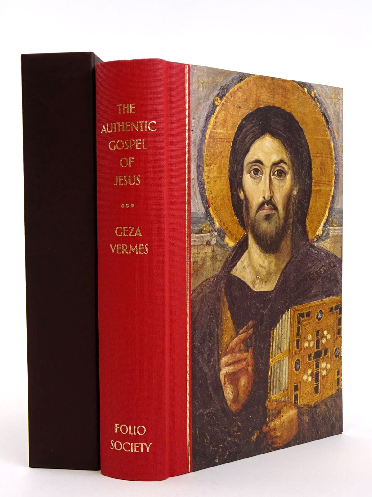 Photo of THE  AUTHENTIC GOSPEL OF JESUS written by Vermes, Geza published by Folio Society (STOCK CODE: 1818205)  for sale by Stella & Rose's Books