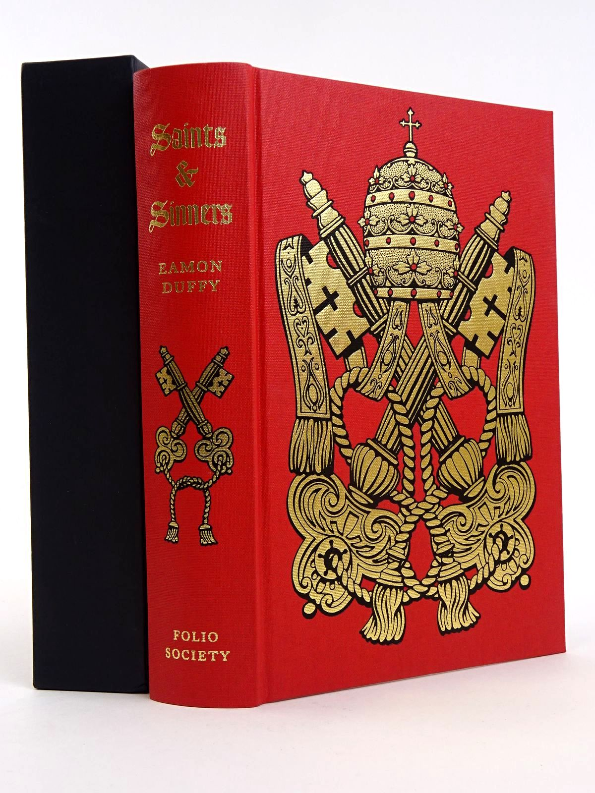 Photo of SAINTS & SINNERS: A HISTORY OF THE POPES written by Duffy, Eamon published by Folio Society (STOCK CODE: 1818206)  for sale by Stella & Rose's Books