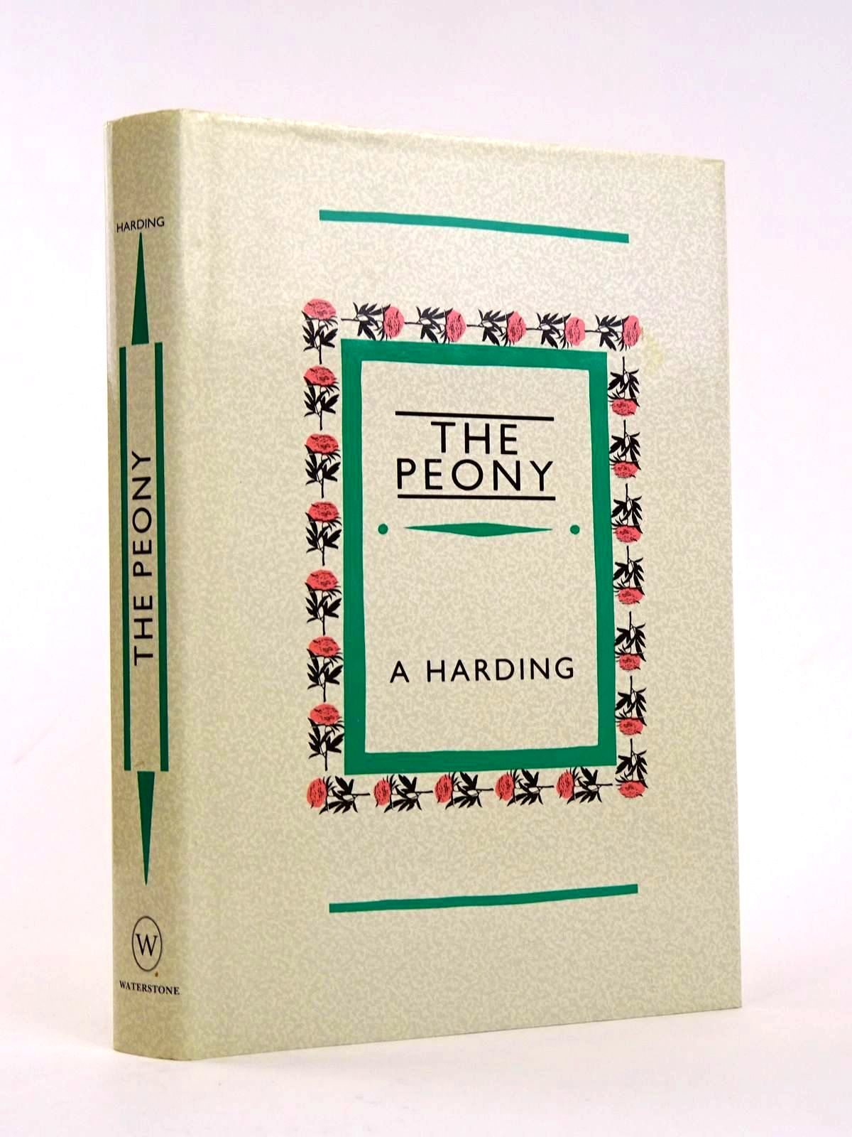 Photo of THE PEONY written by Harding, Alice published by Waterstone (STOCK CODE: 1818228)  for sale by Stella & Rose's Books