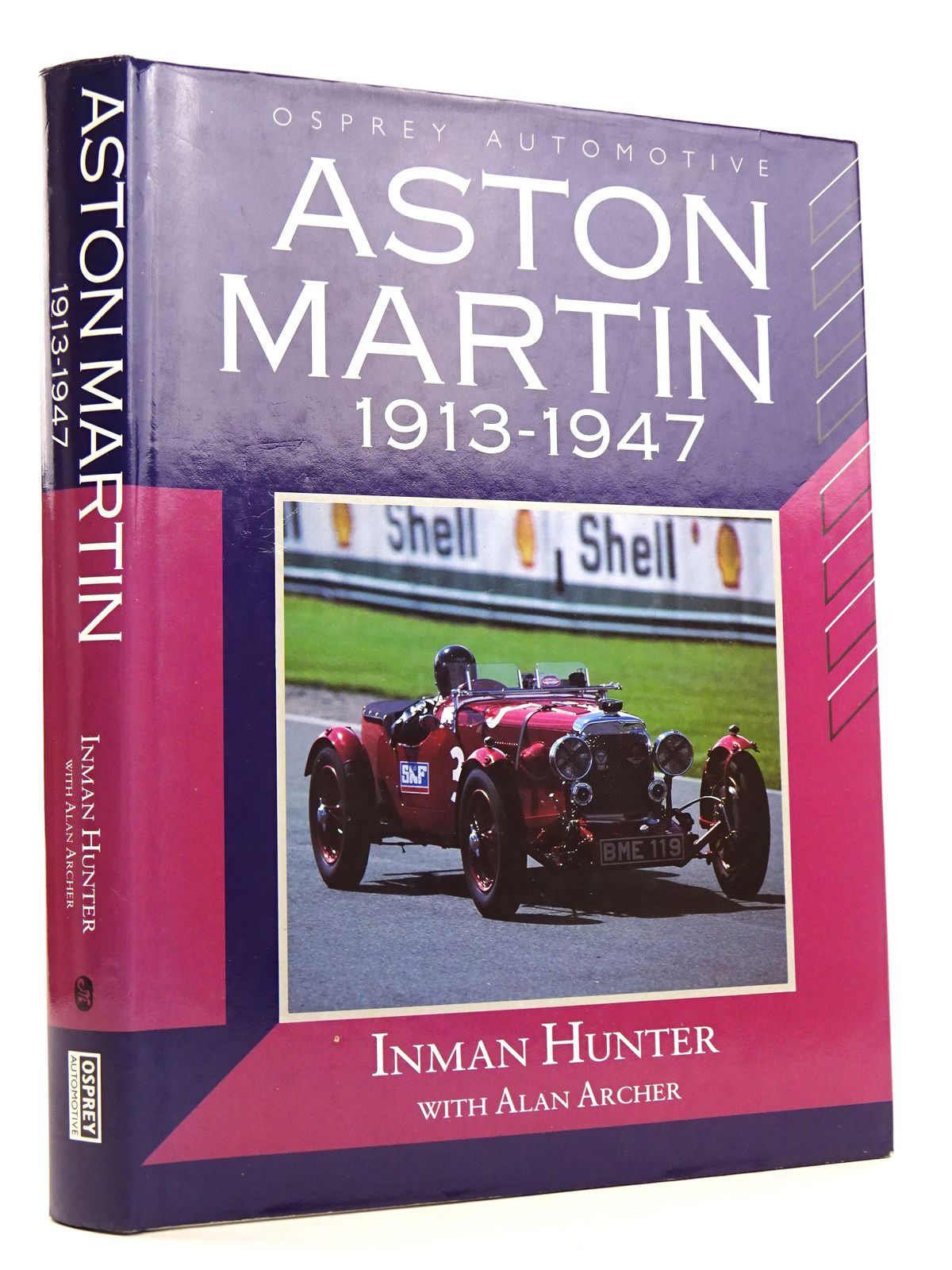 Photo of ASTON MARTIN 1913-1947 written by Hunter, Inman Archer, Alan published by Osprey Automotive (STOCK CODE: 1818254)  for sale by Stella & Rose's Books