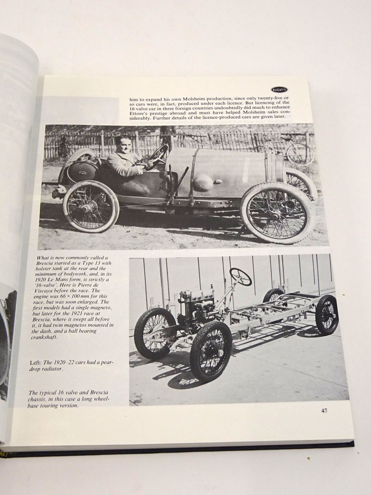 Photo of BUGATTI LE PUR-SANG DES AUTOMOBILES written by Conway, H.G. published by Haynes Publishing Group (STOCK CODE: 1818255)  for sale by Stella & Rose's Books