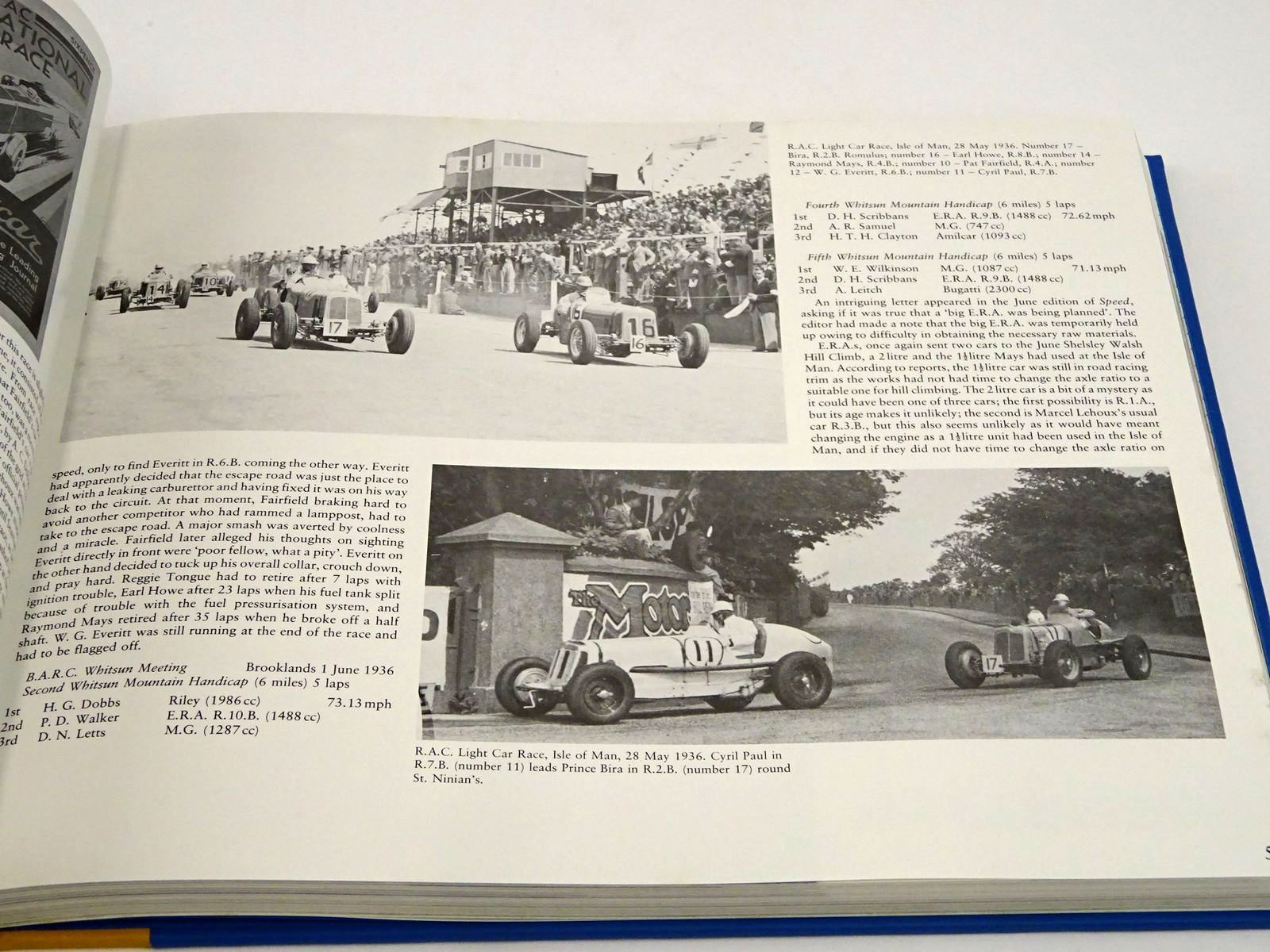 Photo of ERA THE HISTORY OF ENGLISH RACING AUTOMOBILES LIMITED written by Weguelin, David<br />et al,  published by White Mouse (STOCK CODE: 1818261)  for sale by Stella & Rose's Books
