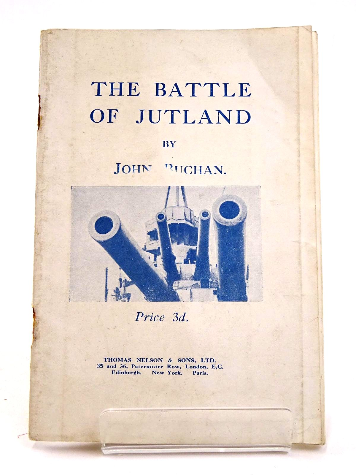 Photo of THE BATTLE OF JUTLAND written by Buchan, John published by Thomas Nelson and Sons Ltd. (STOCK CODE: 1818286)  for sale by Stella & Rose's Books