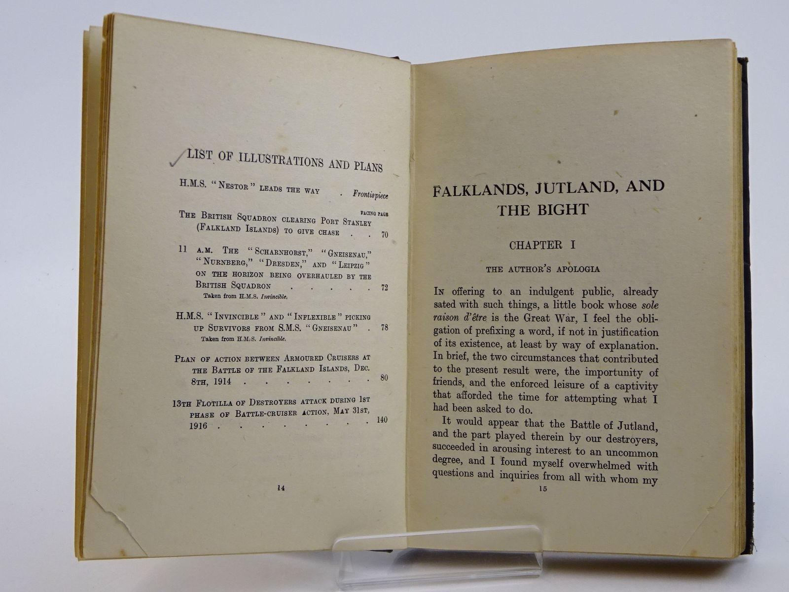Photo of FALKLANDS, JUTLAND AND THE BIGHT written by Bingham, Barry published by John Murray (STOCK CODE: 1818290)  for sale by Stella & Rose's Books