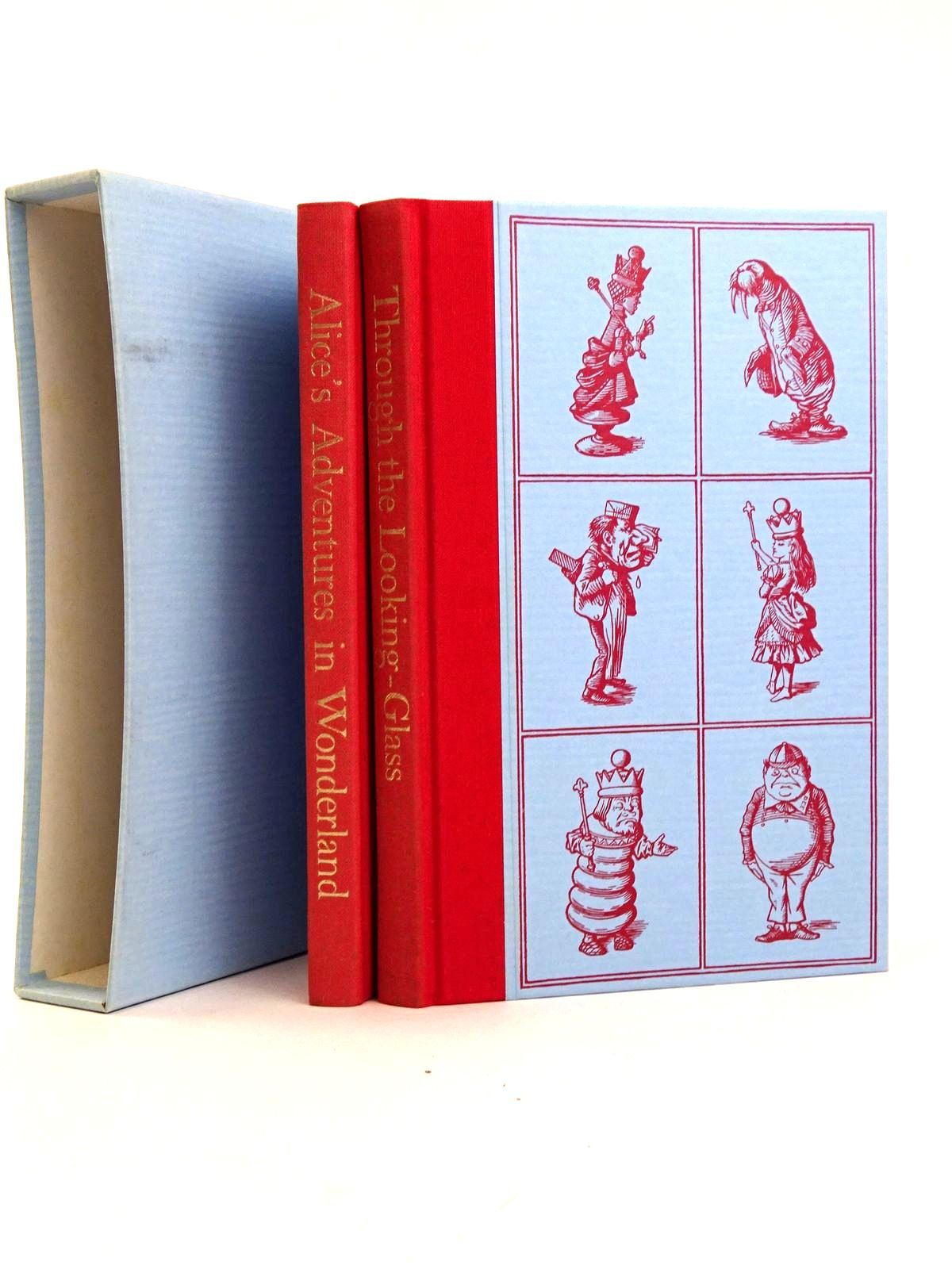 Photo of ALICE'S ADVENTURES IN WONDERLAND AND THROUGH THE LOOKING GLASS (TWO VOLUMES)