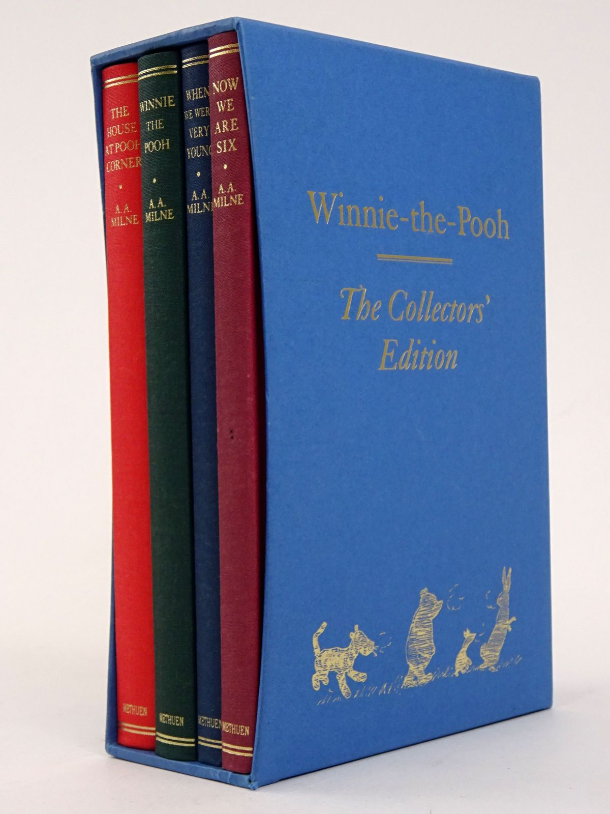 Photo of WINNIE-THE-POOH THE COLLECTORS' EDITION written by Milne, A.A. illustrated by Shepard, E.H. published by Methuen Children's Books (STOCK CODE: 1818308)  for sale by Stella & Rose's Books