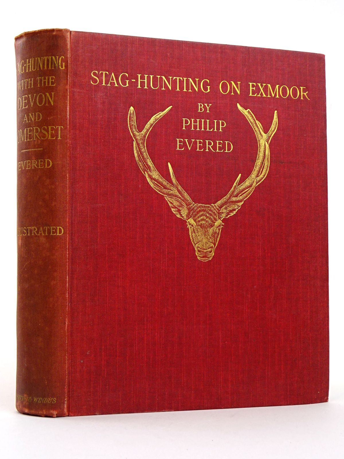 "Photo of STAG HUNTING WITH THE ""DEVON AND SOMERSET"" 1887-1901- Stock Number: 1818318"