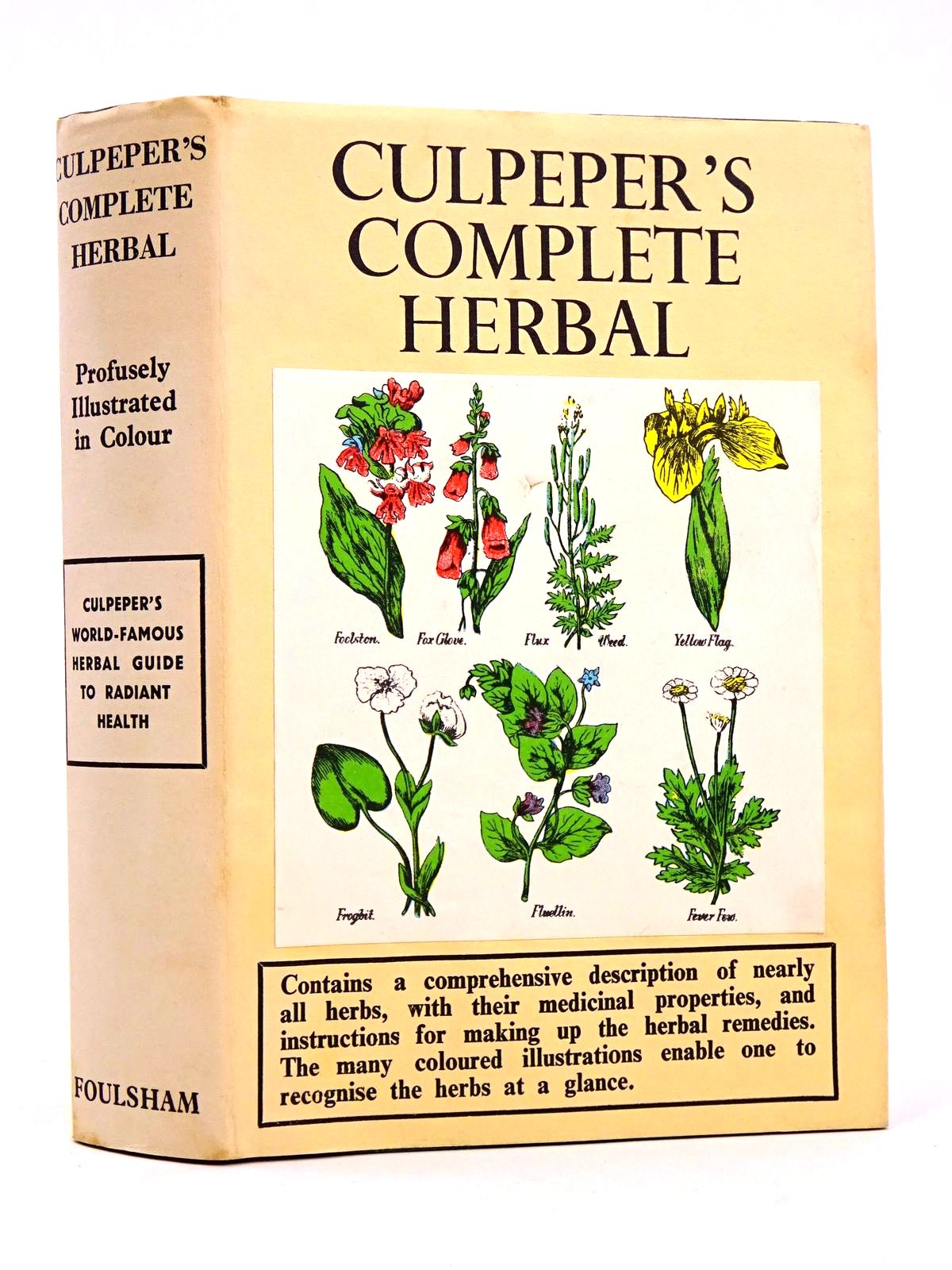 Photo of CULPEPER'S COMPLETE HERBAL- Stock Number: 1818332