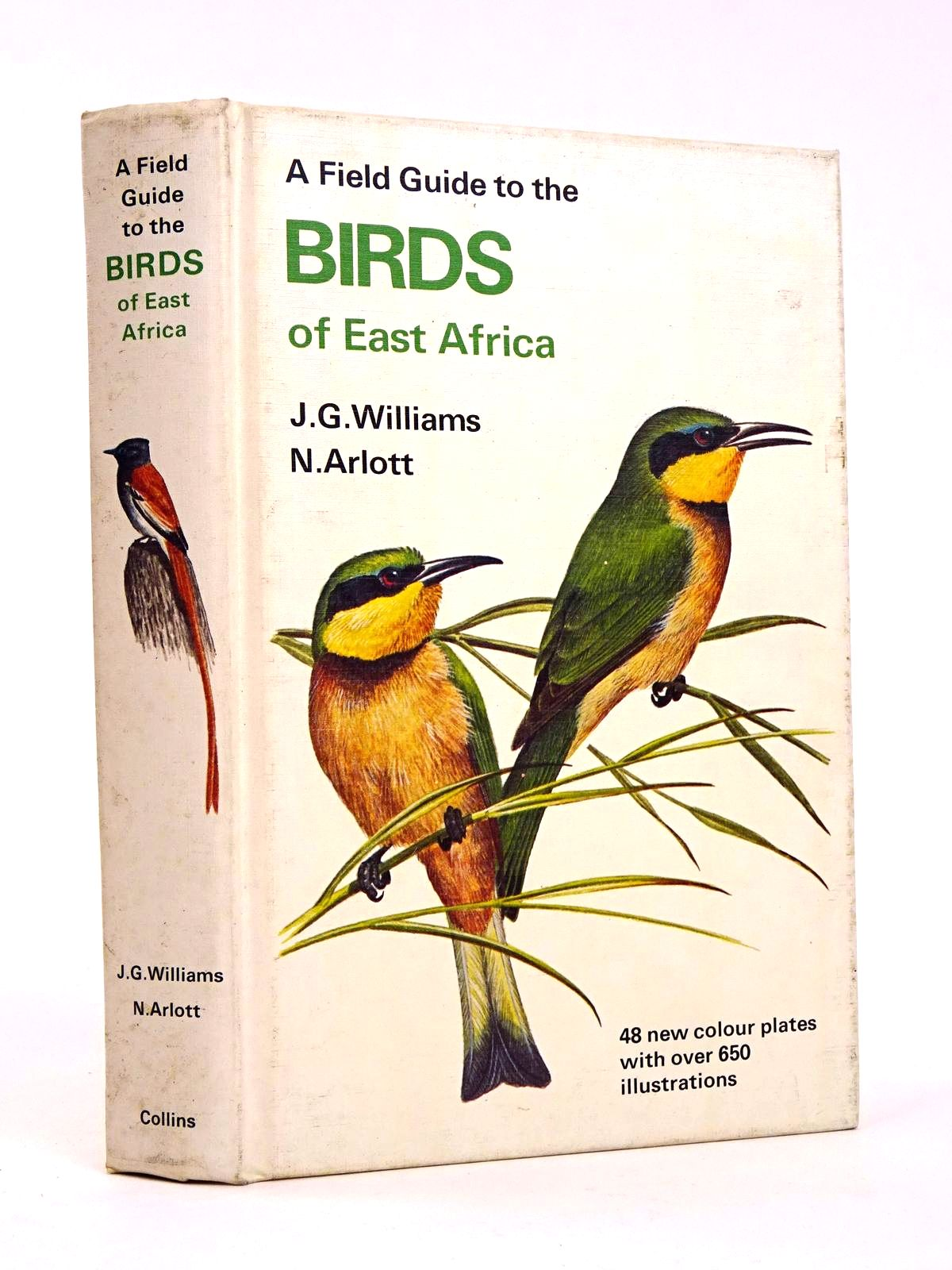 Photo of A FIELD GUIDE TO THE BIRDS OF EAST AFRICA- Stock Number: 1818334