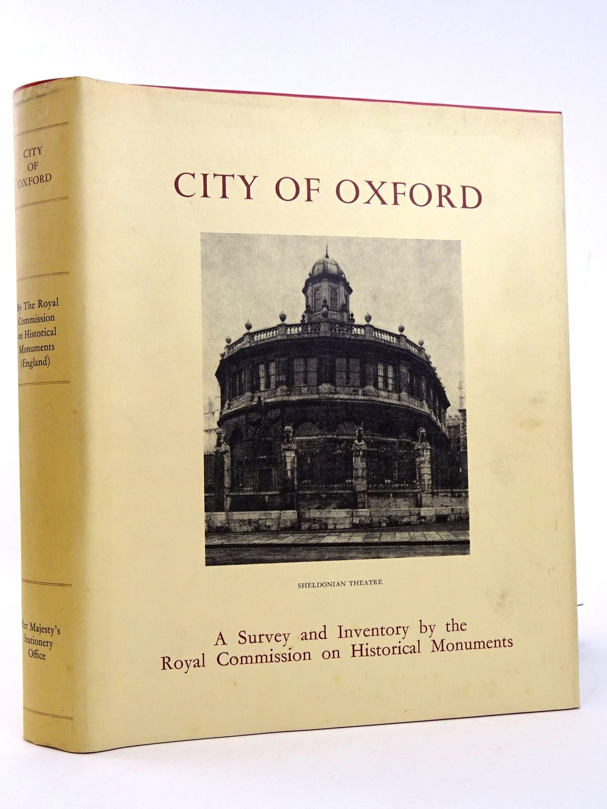 Photo of AN INVENTORY OF THE HISTORICAL MONUMENTS IN THE CITY OF OXFORD- Stock Number: 1818352