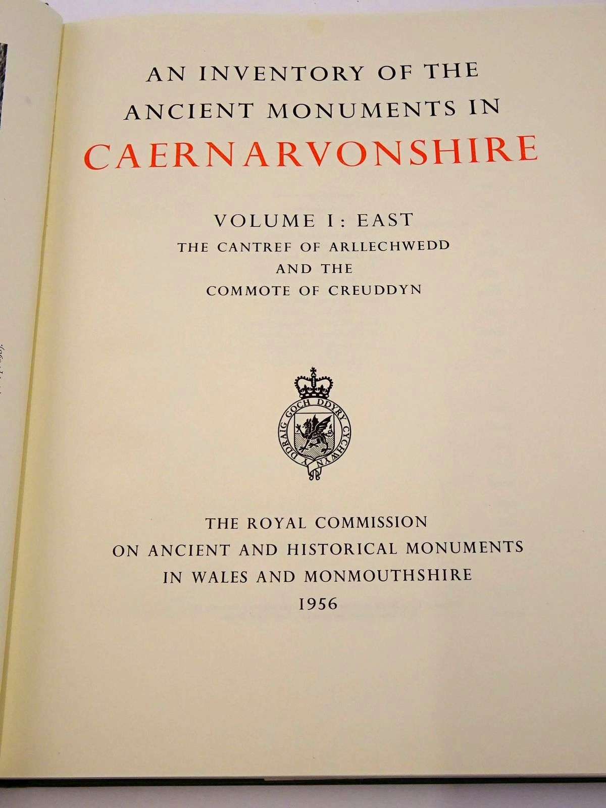 Photo of AN INVENTORY OF THE ANCIENT MONUMENTS IN CAERNARVONSHIRE (THREE VOLUMES) published by The Royal Commission on Ancient and Historical Monuments in Wales (STOCK CODE: 1818359)  for sale by Stella & Rose's Books