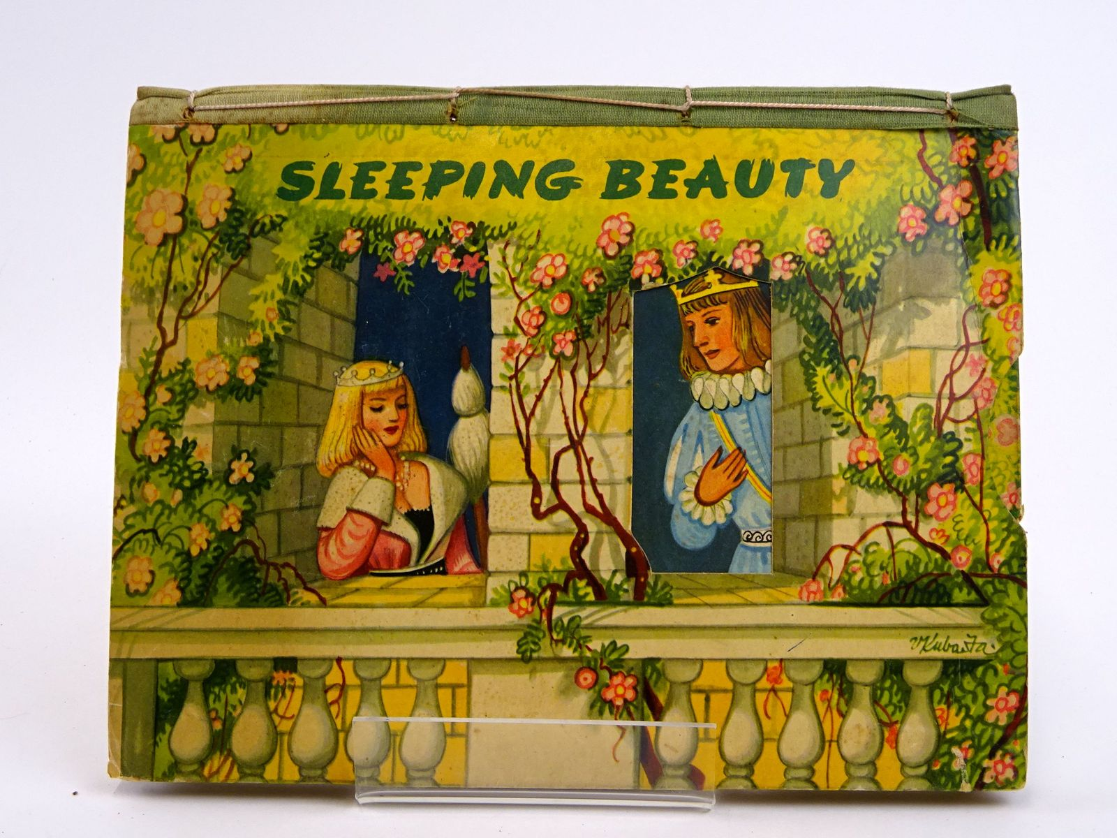Photo of SLEEPING BEAUTY illustrated by Kubasta, Vojtech published by Bancroft & Co.(Publishers) Ltd. (STOCK CODE: 1818420)  for sale by Stella & Rose's Books