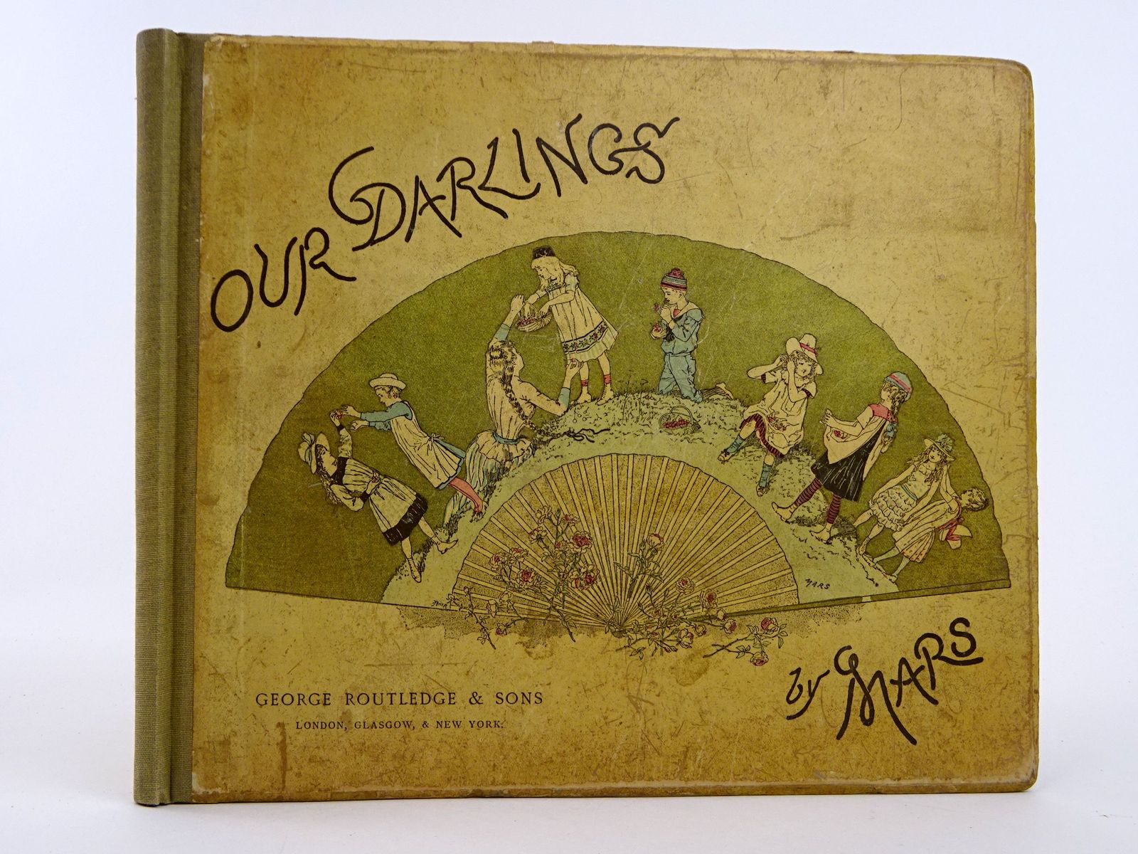 Photo of OUR DARLINGS: AT HOME, IN TOWN, AT THE SEA-SIDE, IN THE COUNTRY, AT PLAY written by Mars, illustrated by Mars, published by George Routledge & Sons (STOCK CODE: 1818422)  for sale by Stella & Rose's Books
