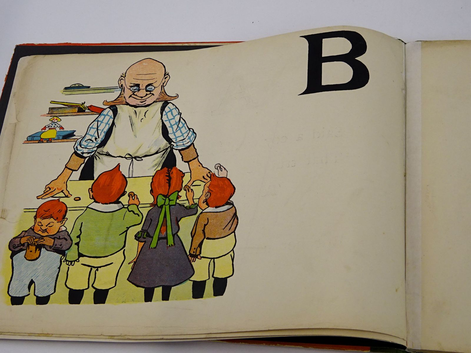 Photo of THE GIMCRACK JINGLE ALPHABET illustrated by Rhode, Ingles published by Dean & Son Ltd. (STOCK CODE: 1818423)  for sale by Stella & Rose's Books