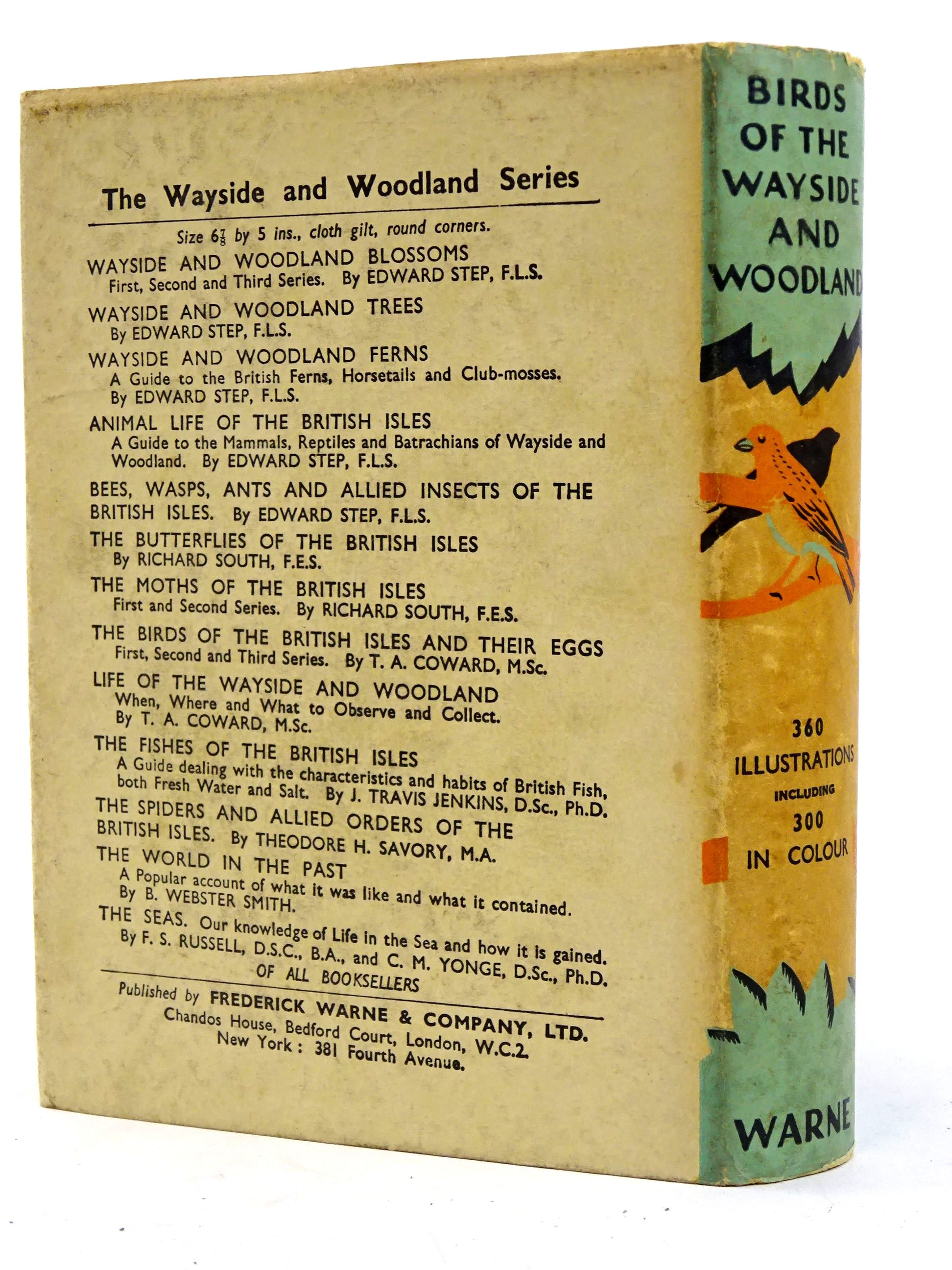 Photo of BIRDS OF THE WAYSIDE AND WOODLAND written by Coward, T.A. Blyton, Enid published by Frederick Warne & Co Ltd. (STOCK CODE: 1818427)  for sale by Stella & Rose's Books