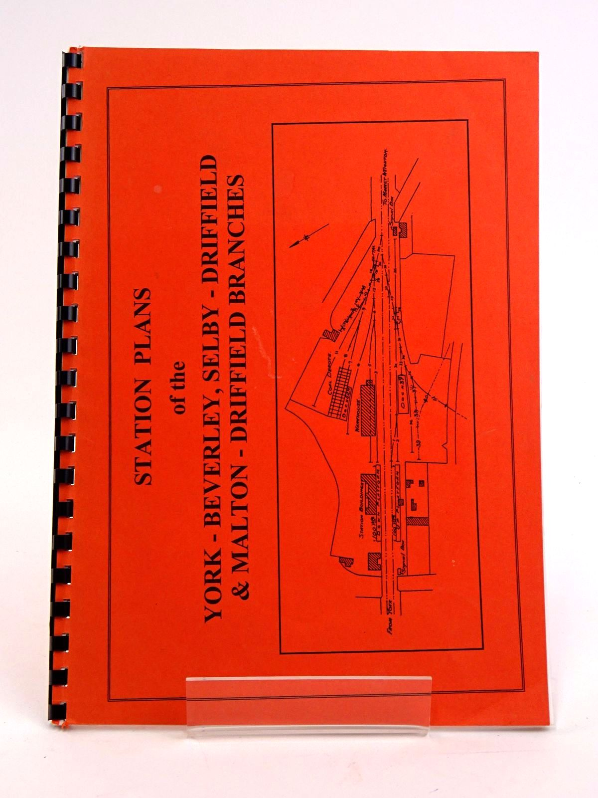 Photo of STATION PLANS OF THE YORK-BEVERLEY, SELBY-DRIFFIELD & MALTON-DRIFFIELD BRANCHES- Stock Number: 1818443