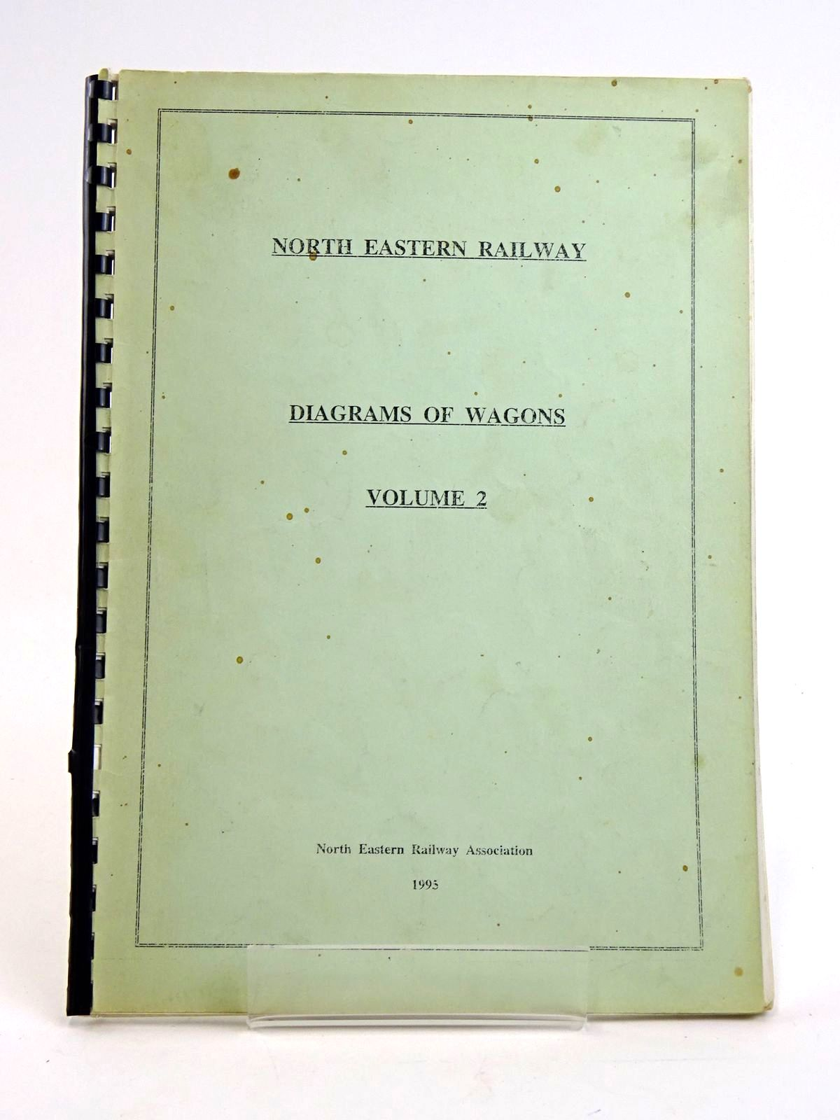 Photo of NORTH EASTERN RAILWAY: DIAGRAMS OF WAGONS VOLUME 2- Stock Number: 1818446