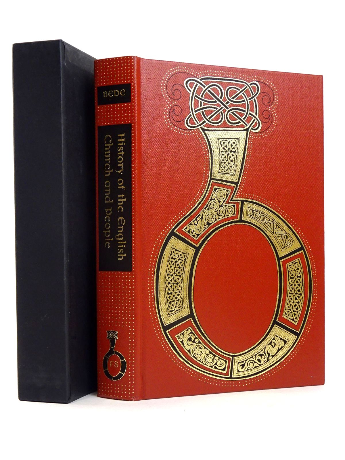 Photo of HISTORY OF THE ENGLISH CHURCH AND PEOPLE written by Bede, Venerable<br />Latham, R.E.<br />Bragg, Melvyn published by Folio Society (STOCK CODE: 1818516)  for sale by Stella & Rose's Books