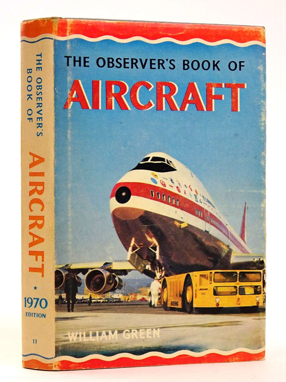 Photo of THE OBSERVER'S BOOK OF AIRCRAFT written by Green, William illustrated by Punnett, Dennis published by Frederick Warne & Co Ltd. (STOCK CODE: 1818551)  for sale by Stella & Rose's Books