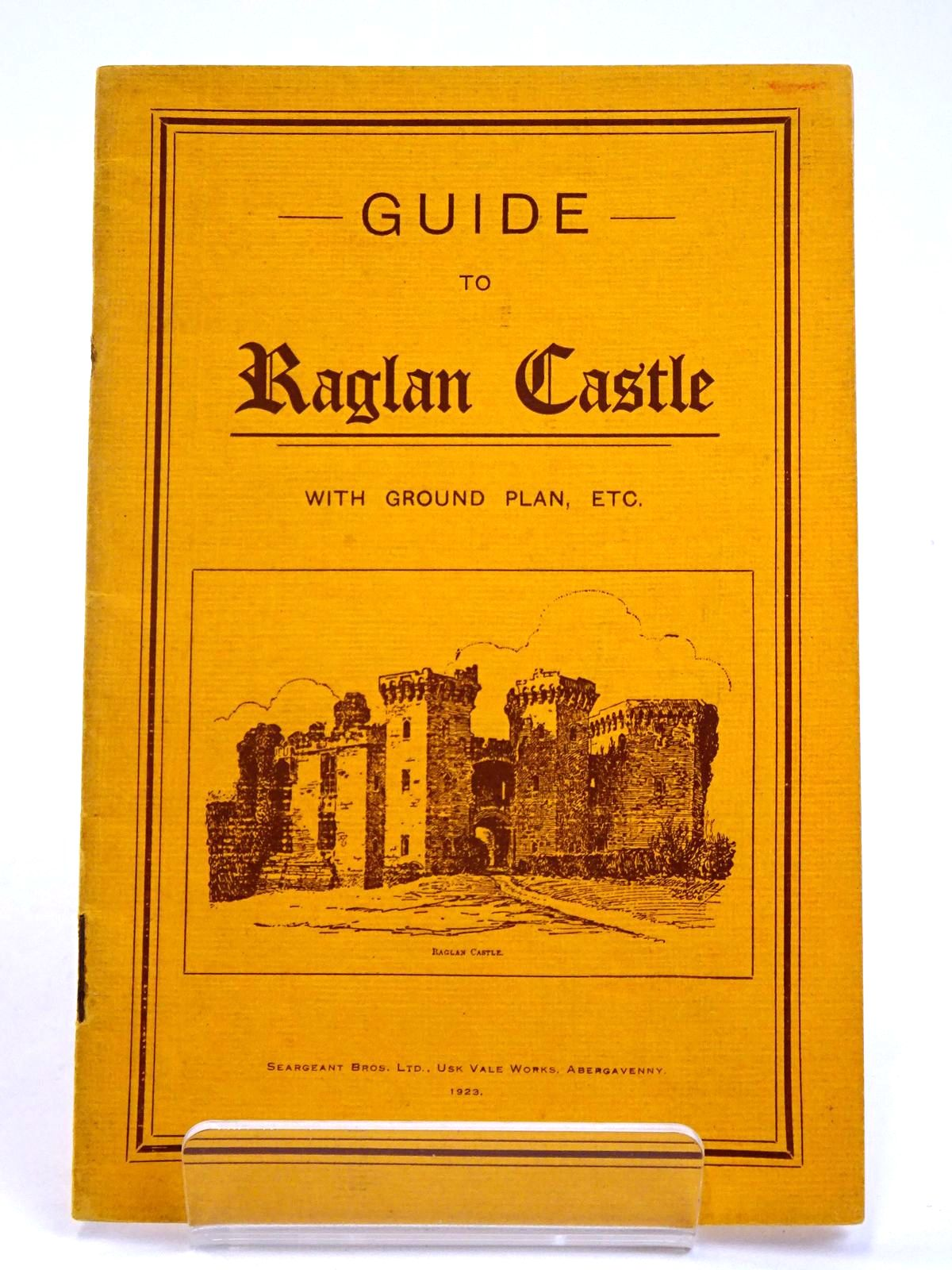 Photo of GUIDE TO RAGLAN CASTLE WITH GROUND PLAN ETC- Stock Number: 1818553