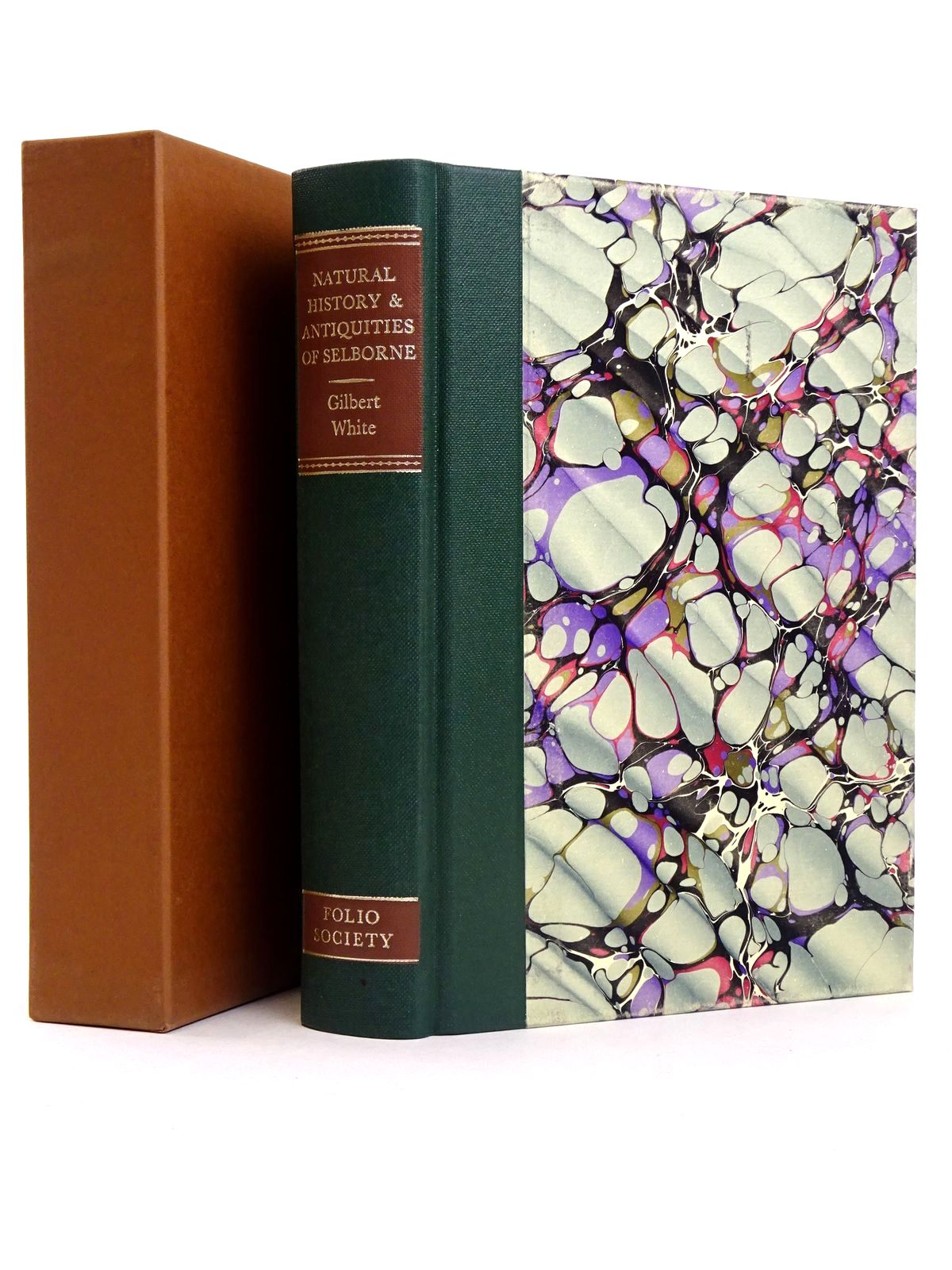 Photo of THE NATURAL HISTORY AND ANTIQUITIES OF SELBORNE written by White, Gilbert<br />Niall, Ian illustrated by Wormell, Christopher published by Folio Society (STOCK CODE: 1818579)  for sale by Stella & Rose's Books