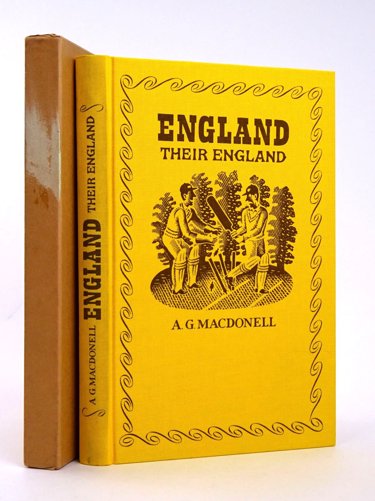 Photo of ENGLAND THEIR ENGLAND written by MacDonell, A.G. illustrated by Brookes, Peter published by Folio Society (STOCK CODE: 1818581)  for sale by Stella & Rose's Books