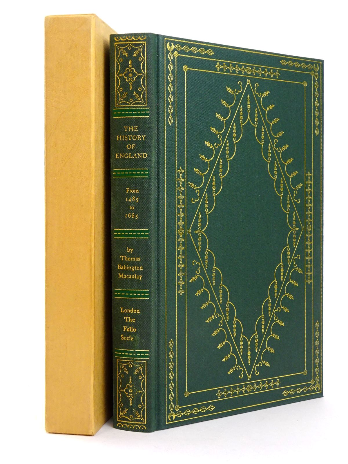 Photo of THE HISTORY OF ENGLAND 1485-1685 written by Macaulay, Thomas Babington Rowland, Peter published by Folio Society (STOCK CODE: 1818584)  for sale by Stella & Rose's Books