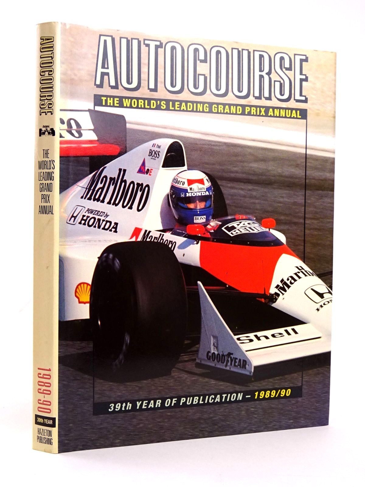 Photo of AUTOCOURSE 1989-90 written by Henry, Alan published by Hazleton Publishing (STOCK CODE: 1818590)  for sale by Stella & Rose's Books