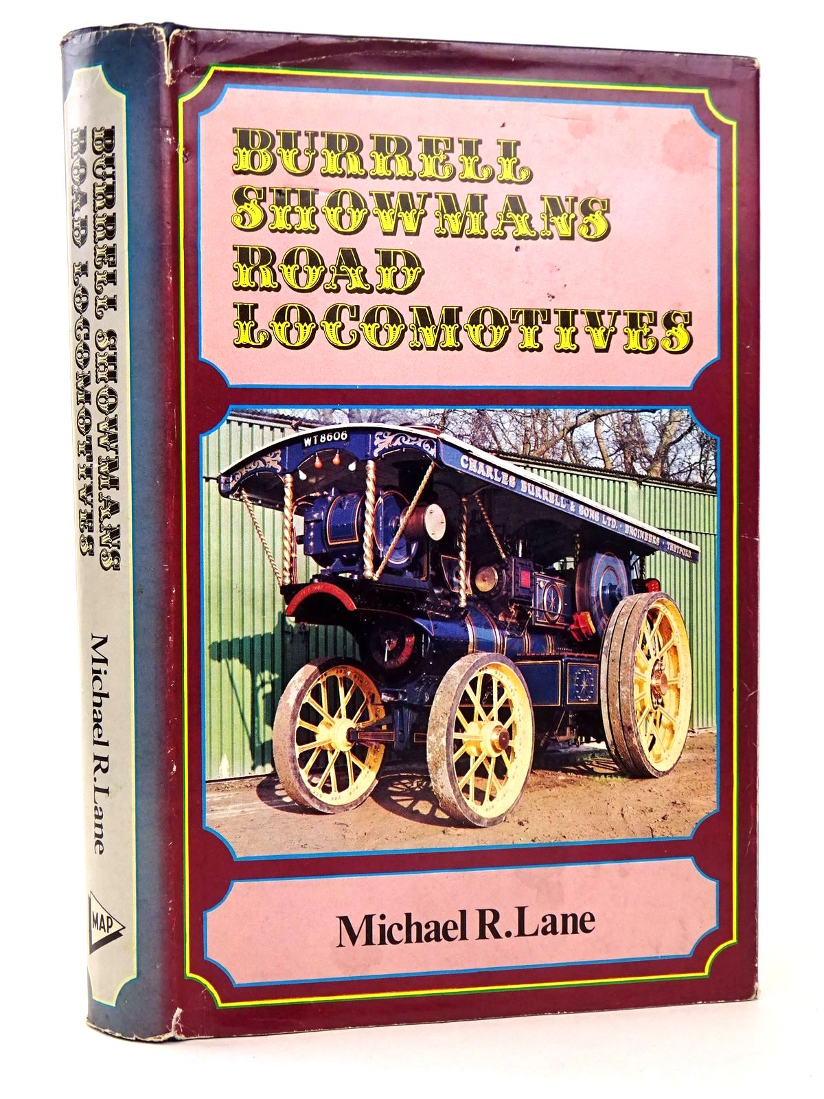 Photo of BURRELL SHOWMAN'S ROAD LOCOMOTIVES written by Lane, Michael R. published by Model & Allied Publications (STOCK CODE: 1818617)  for sale by Stella & Rose's Books