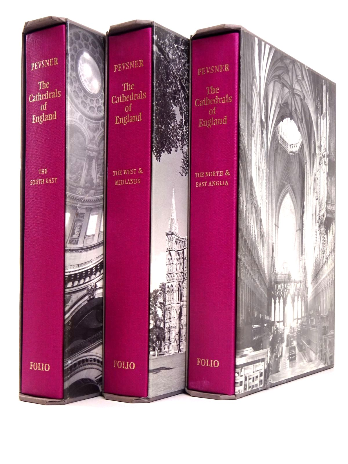 Photo of THE CATHEDRALS OF ENGLAND (3 VOLUMES)- Stock Number: 1818650