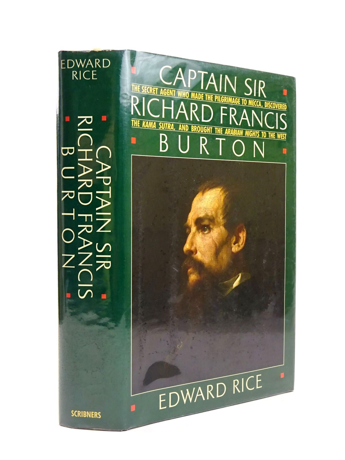Photo of CAPTAIN SIR RICHARD FRANCIS BURTON written by Rice, Edward published by Charles Scribner's Sons (STOCK CODE: 1818664)  for sale by Stella & Rose's Books