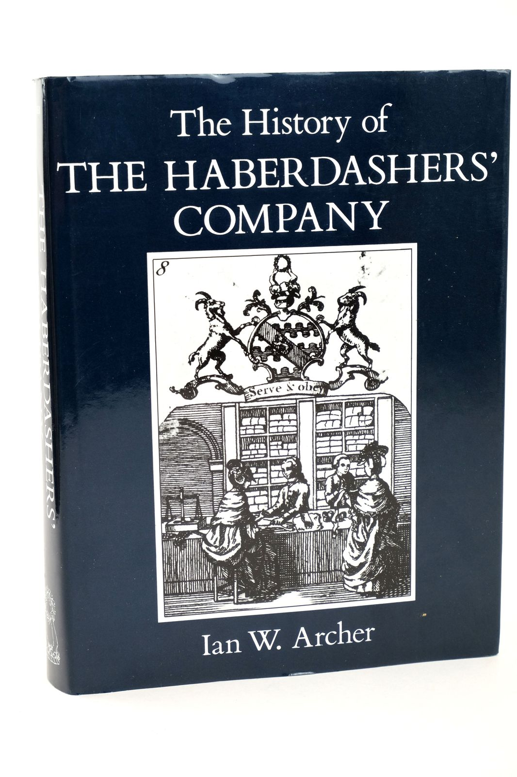 Photo of THE HISTORY OF THE HABERDASHERS' COMPANY written by Archer, Ian W. published by Phillimore (STOCK CODE: 1818690)  for sale by Stella & Rose's Books