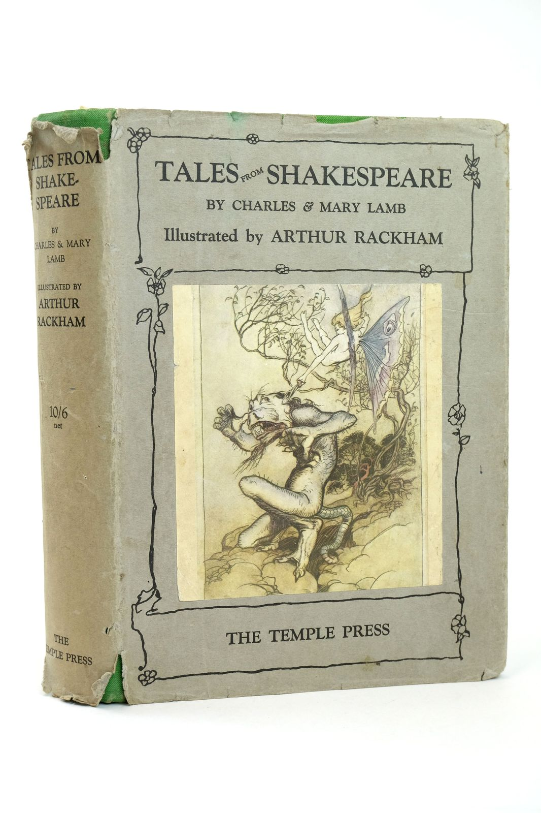 Photo of TALES FROM SHAKESPEARE written by Lamb, Charles<br />Lamb, Mary<br />Shakespeare, William illustrated by Rackham, Arthur published by Temple Press (STOCK CODE: 1818695)  for sale by Stella & Rose's Books