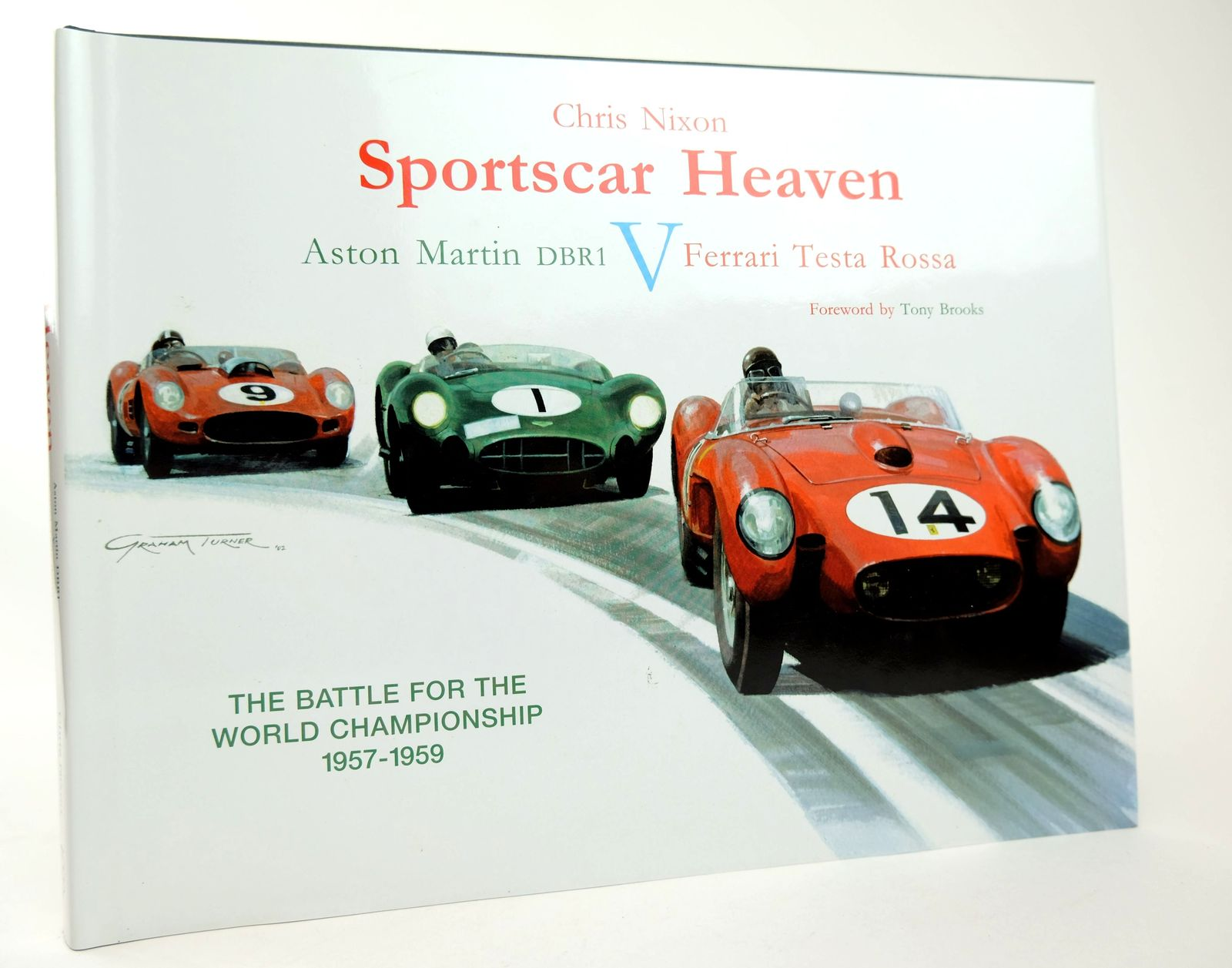 Photo of SPORTSCAR HEAVEN: ASTON MARTIN DB1 V FERRARI TESTA ROSSA written by Nixon, Chris published by Transport Bookman Publications (STOCK CODE: 1818703)  for sale by Stella & Rose's Books