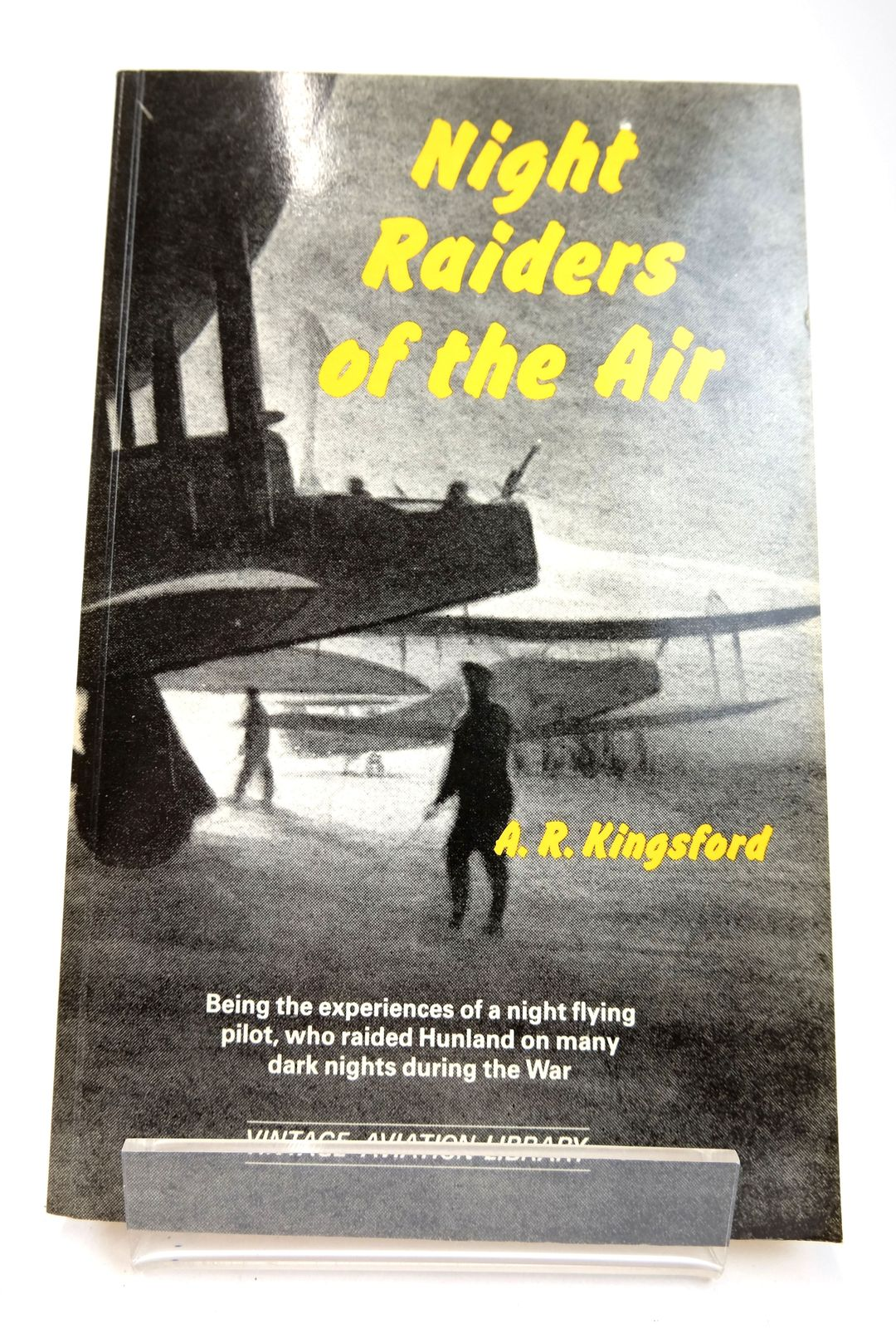 Photo of NIGHT RAIDERS OF THE AIR written by Kingsford, A.R. published by Greenhill Books (STOCK CODE: 1818728)  for sale by Stella & Rose's Books