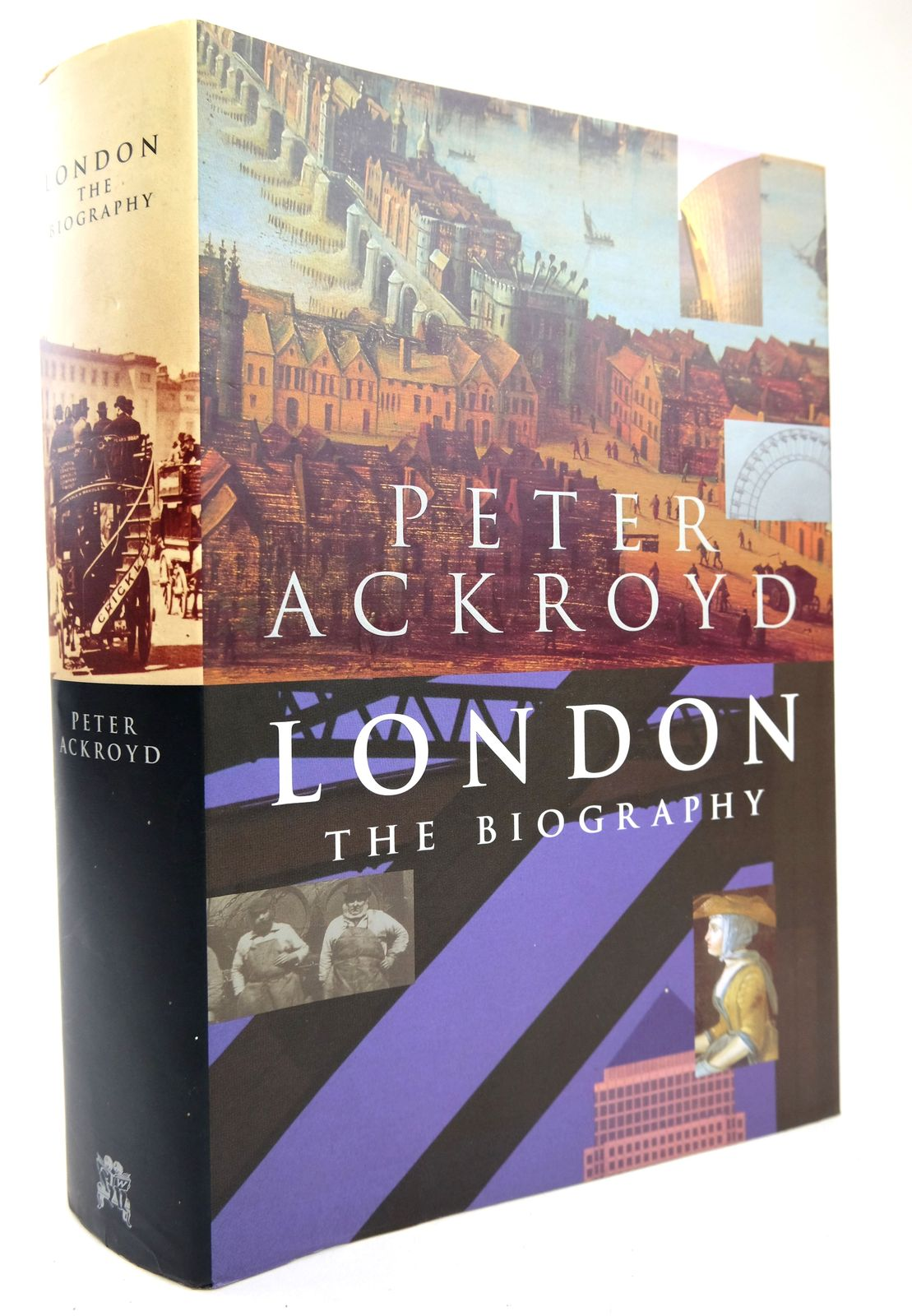 Photo of LONDON THE BIOGRAPHY written by Ackroyd, Peter published by Chatto & Windus (STOCK CODE: 1818737)  for sale by Stella & Rose's Books