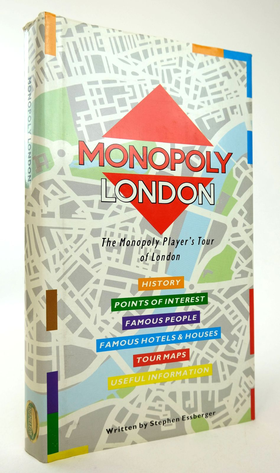 Photo of MONOPOLY LONDON: THE MONOPOLY PLAYER'S TOUR OF LONDON written by Essberger, Stephen published by Chameleon Publishing, Fotobank Books Ltd (STOCK CODE: 1818745)  for sale by Stella & Rose's Books