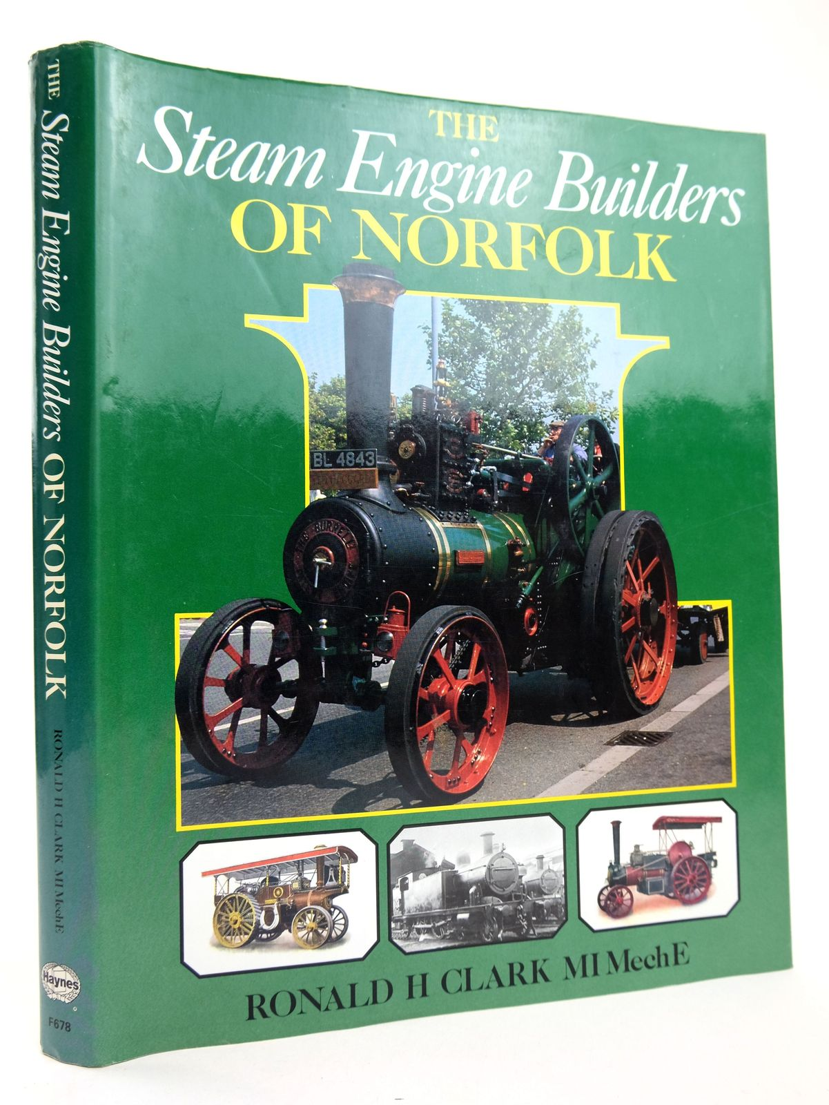 Photo of THE STEAM ENGINE BUILDERS OF NORFOLK written by Clark, Ronald H. published by Foulis, Haynes (STOCK CODE: 1818752)  for sale by Stella & Rose's Books