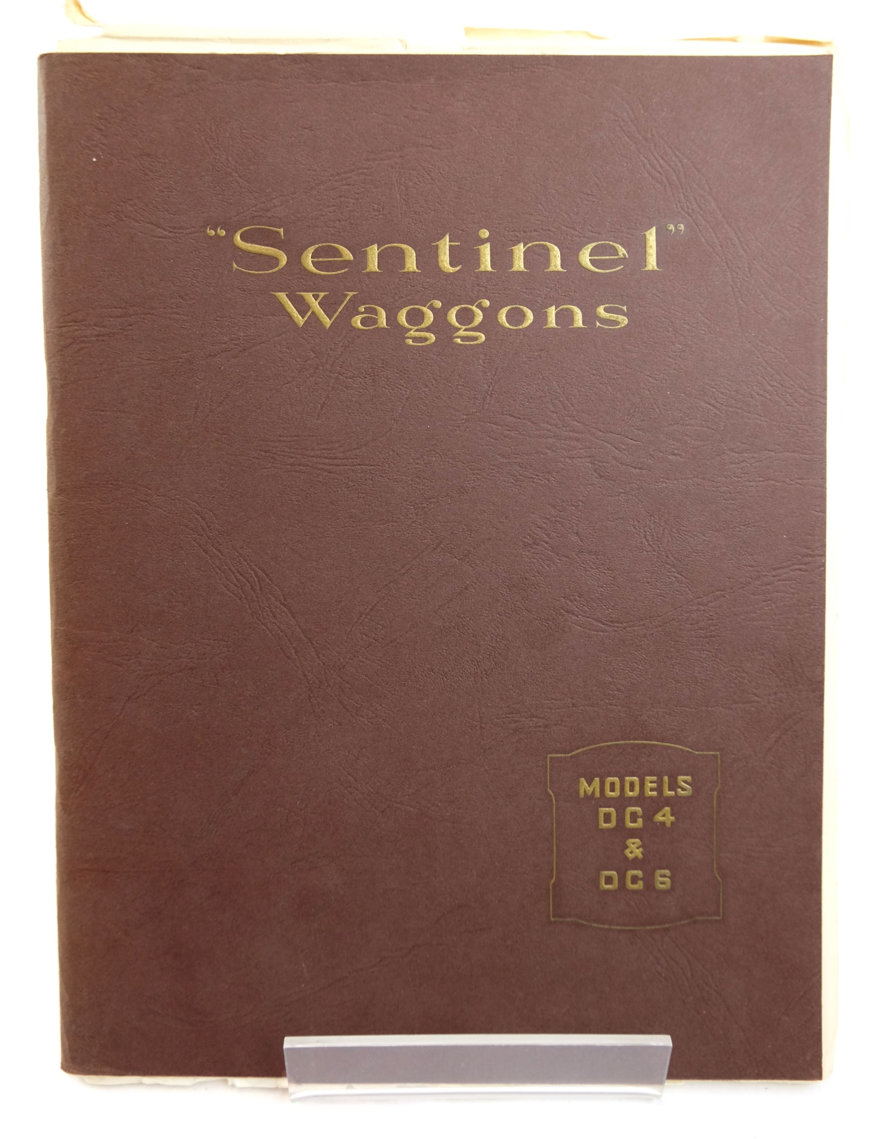 Photo of SENTINEL WAGGONS MODELS D.G.4 AND D.G.6 published by Polyhedron Printers Limited (STOCK CODE: 1818754)  for sale by Stella & Rose's Books