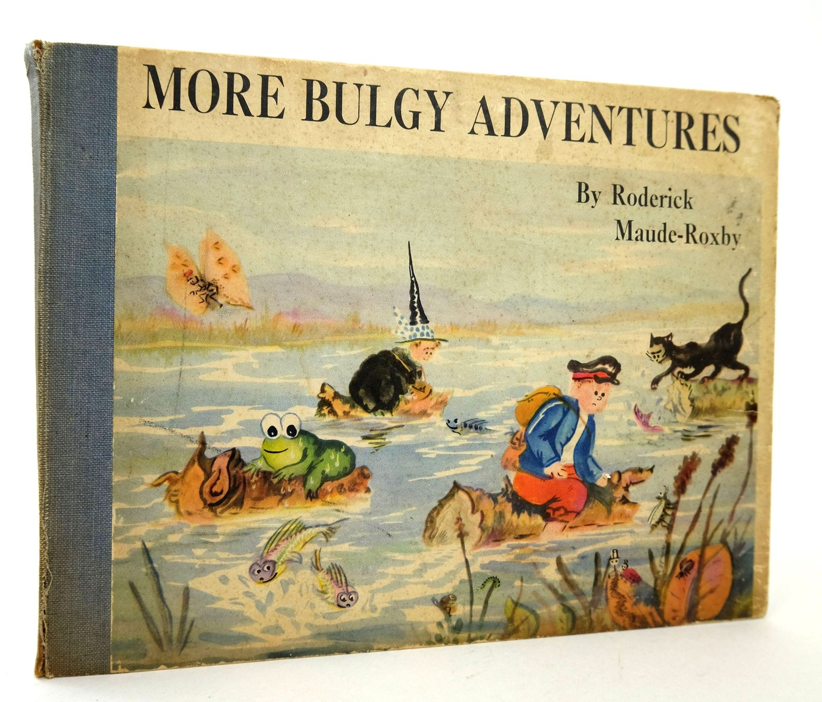 Photo of MORE BULGY ADVENTURES written by Maude-Roxby, Roderick illustrated by Maude-Roxby, Roderick published by H.F. & G. Witherby Ltd. (STOCK CODE: 1818776)  for sale by Stella & Rose's Books