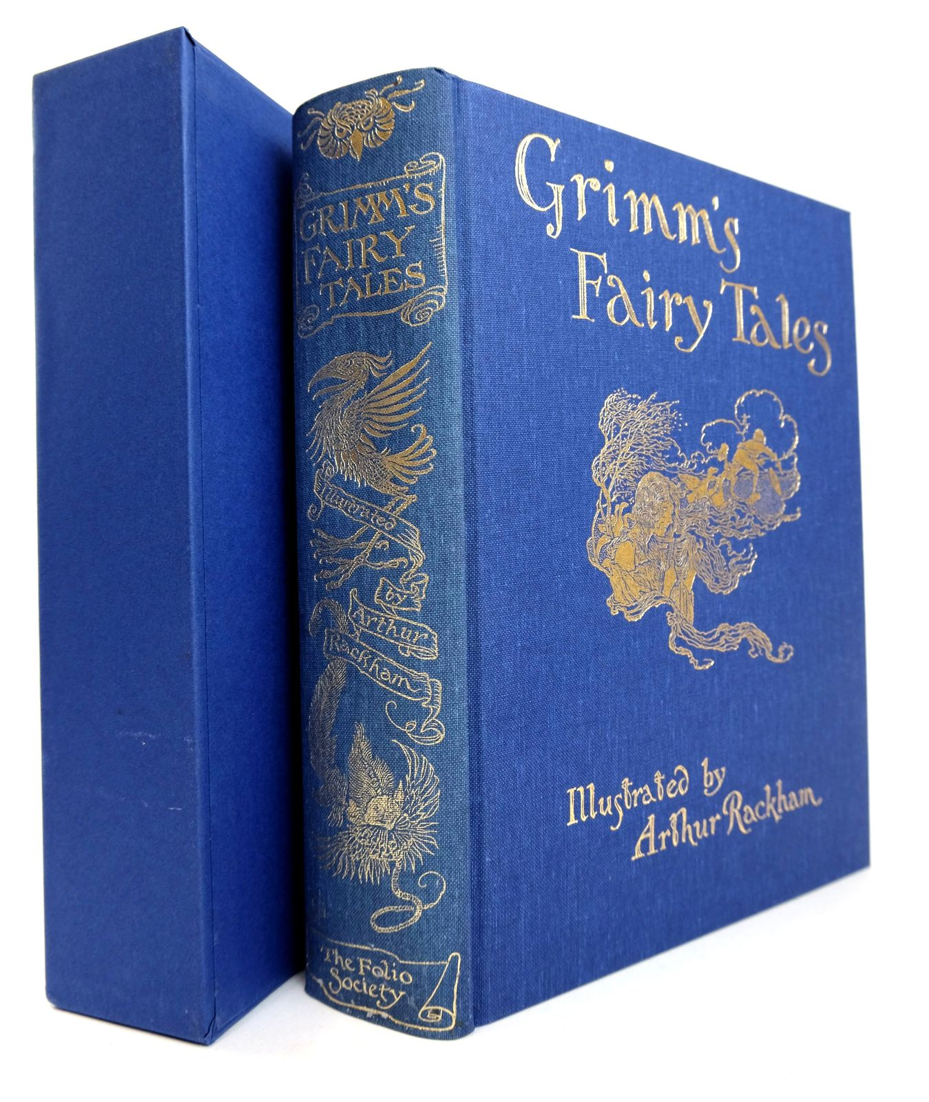 Photo of THE FAIRY TALES OF THE BROTHERS GRIMM written by Grimm, Brothers illustrated by Rackham, Arthur published by Folio Society (STOCK CODE: 1818798)  for sale by Stella & Rose's Books