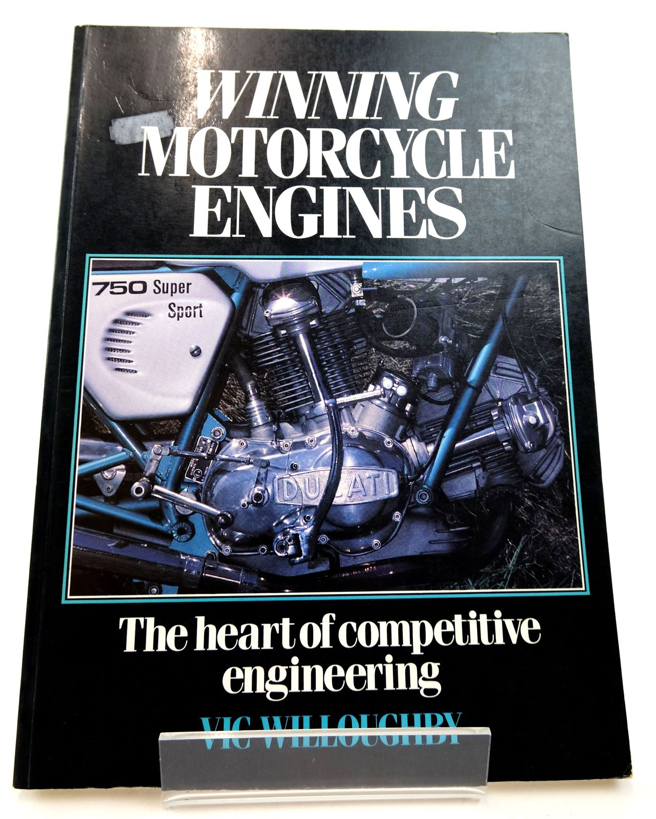 Photo of WINNING MOTORCYCLE ENGINES: THE HEART OF COMPETITIVE ENGINEERING written by Willoughby, Vic published by Osprey Publishing (STOCK CODE: 1818811)  for sale by Stella & Rose's Books