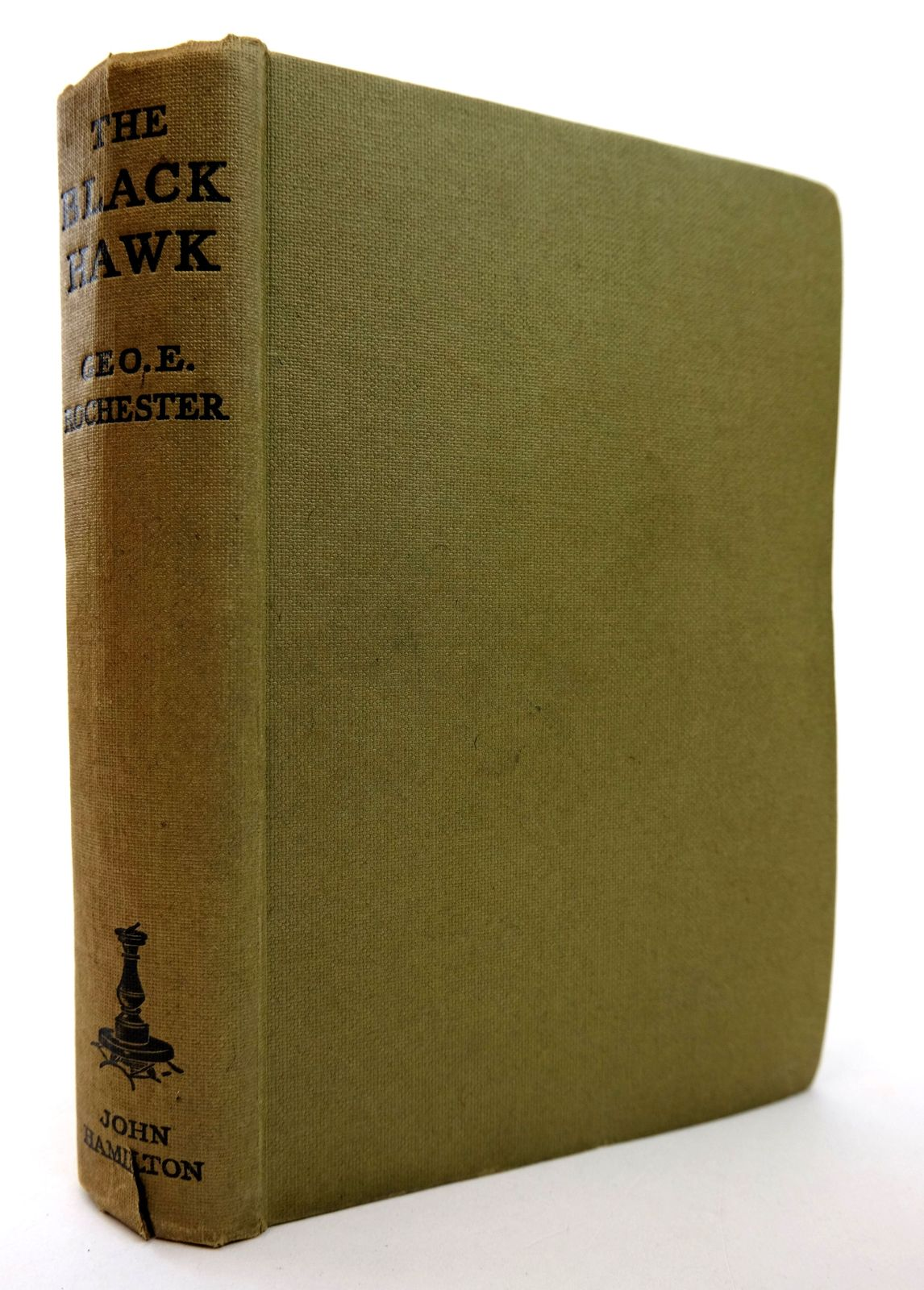 Photo of THE BLACK HAWK written by Rochester, George E. published by John Hamilton Ltd. (STOCK CODE: 1818823)  for sale by Stella & Rose's Books
