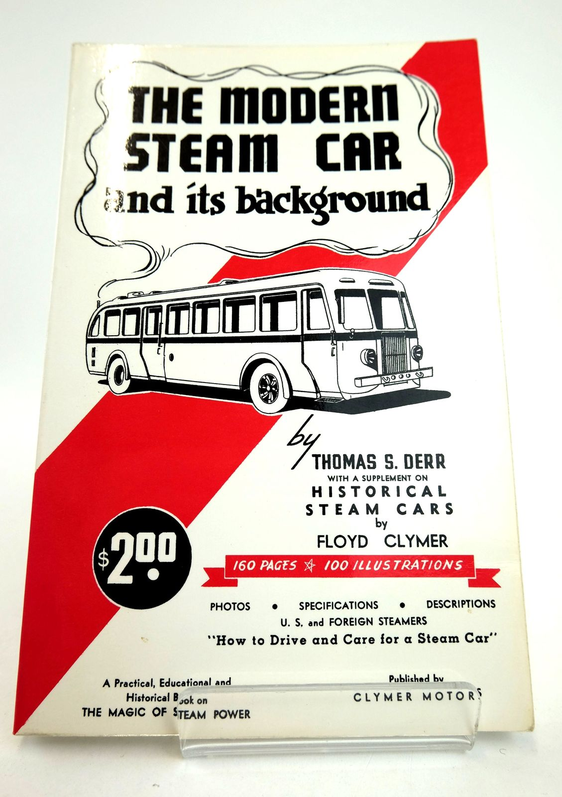Photo of THE MODERN STEAM CAR AND ITS BACKGROUND- Stock Number: 1818834